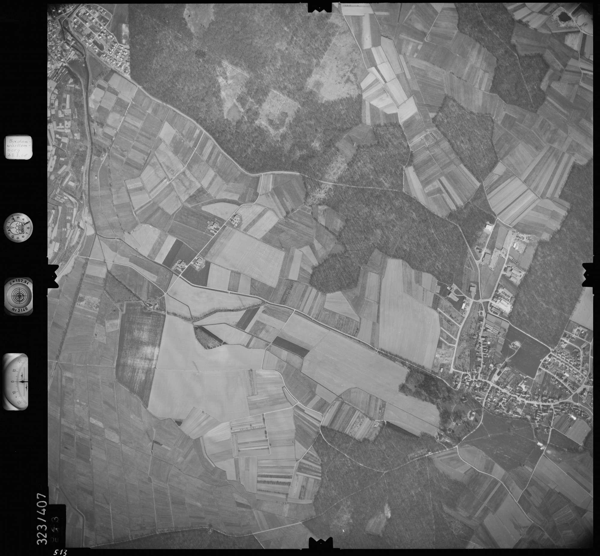 Luftbild: Film 47 Bildnr. 513, Bild 1