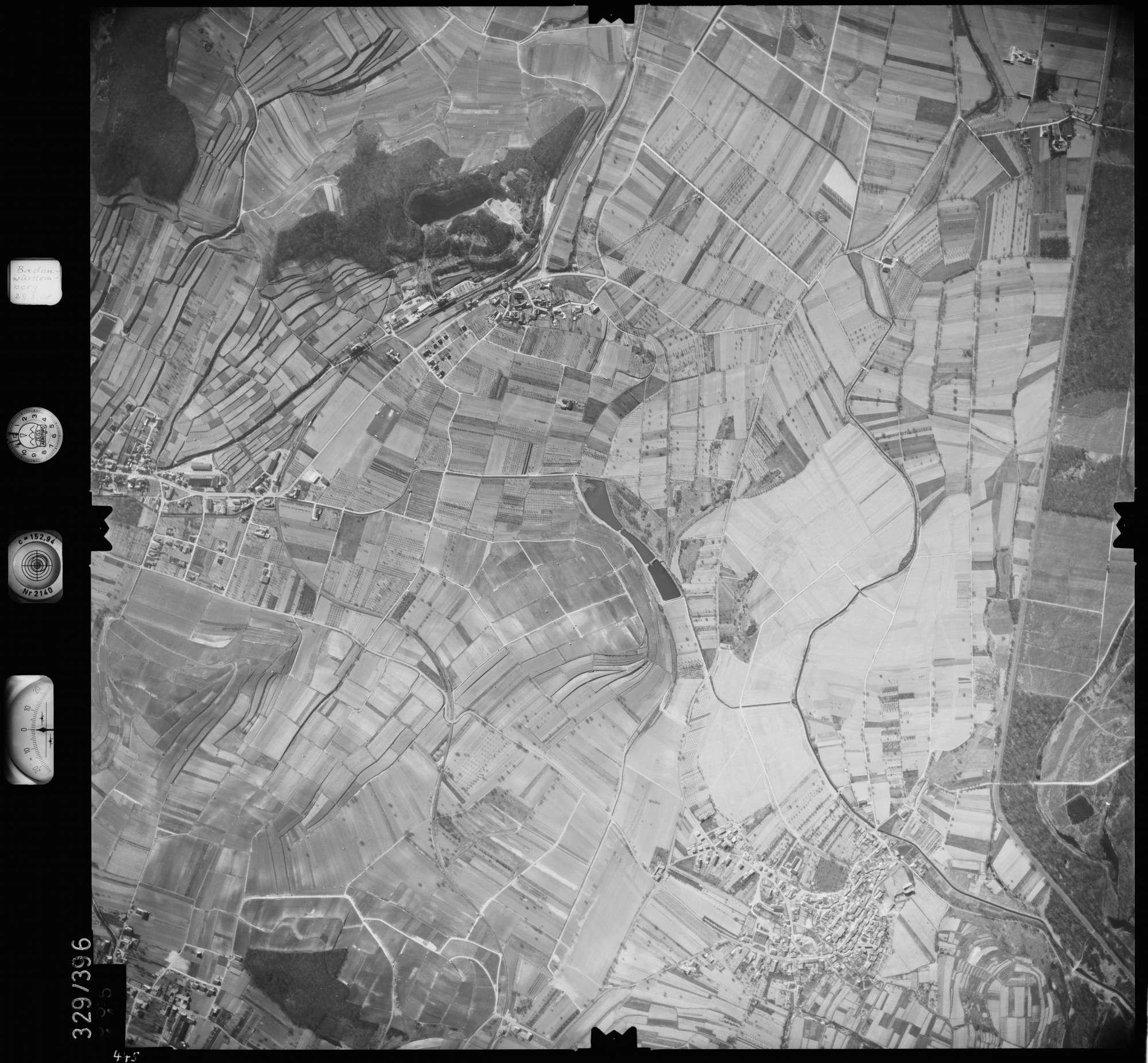Luftbild: Film 47 Bildnr. 445, Bild 1