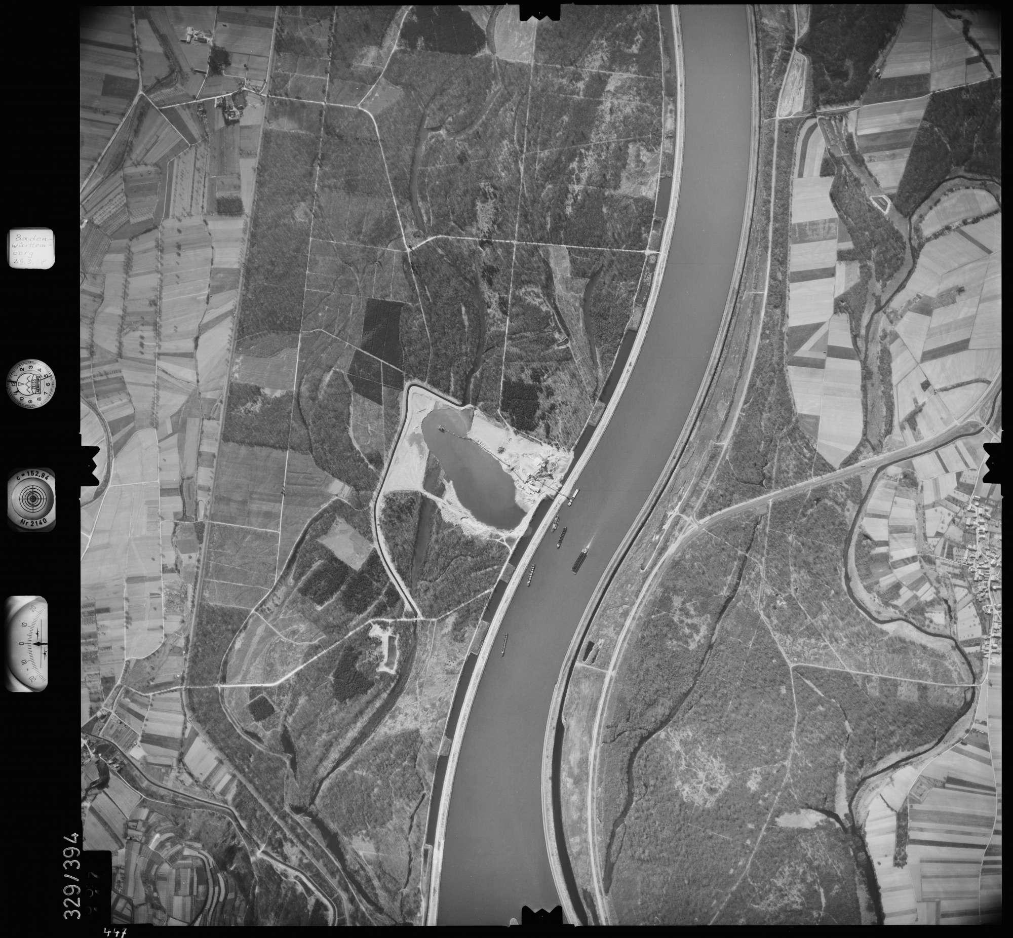 Luftbild: Film 47 Bildnr. 447, Bild 1