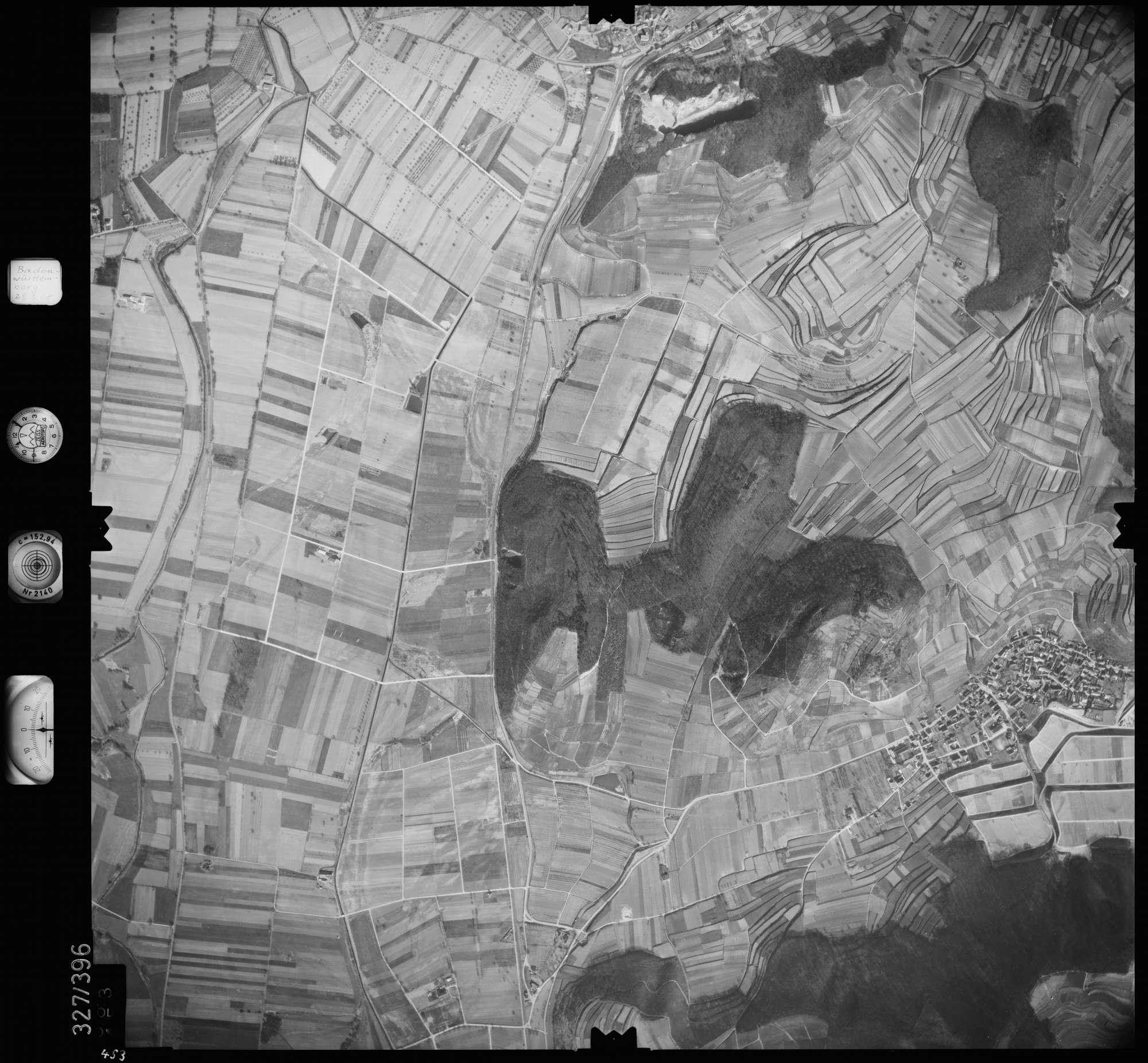 Luftbild: Film 47 Bildnr. 453, Bild 1