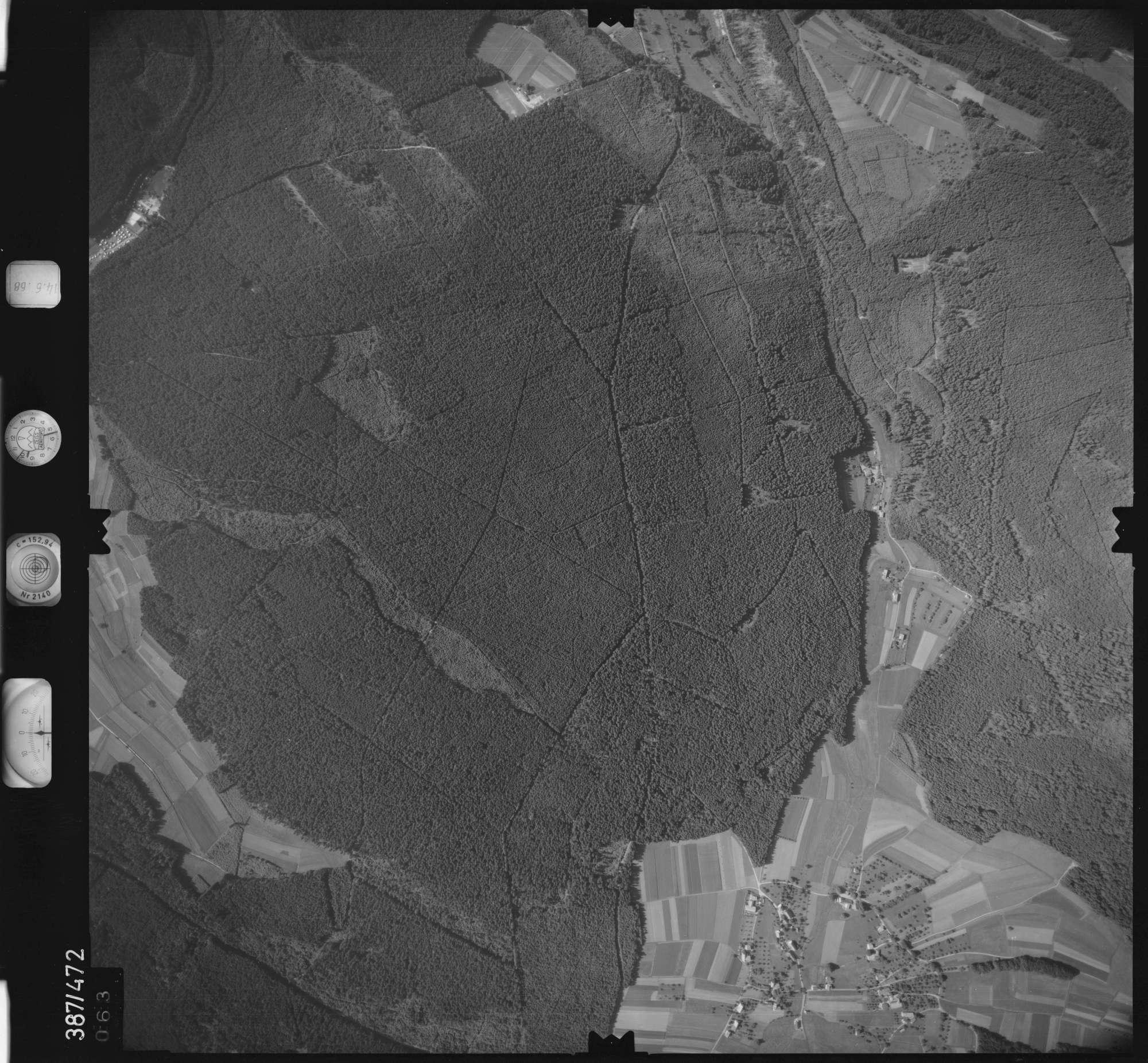 Luftbild: Film 21 Bildnr. 63, Bild 1