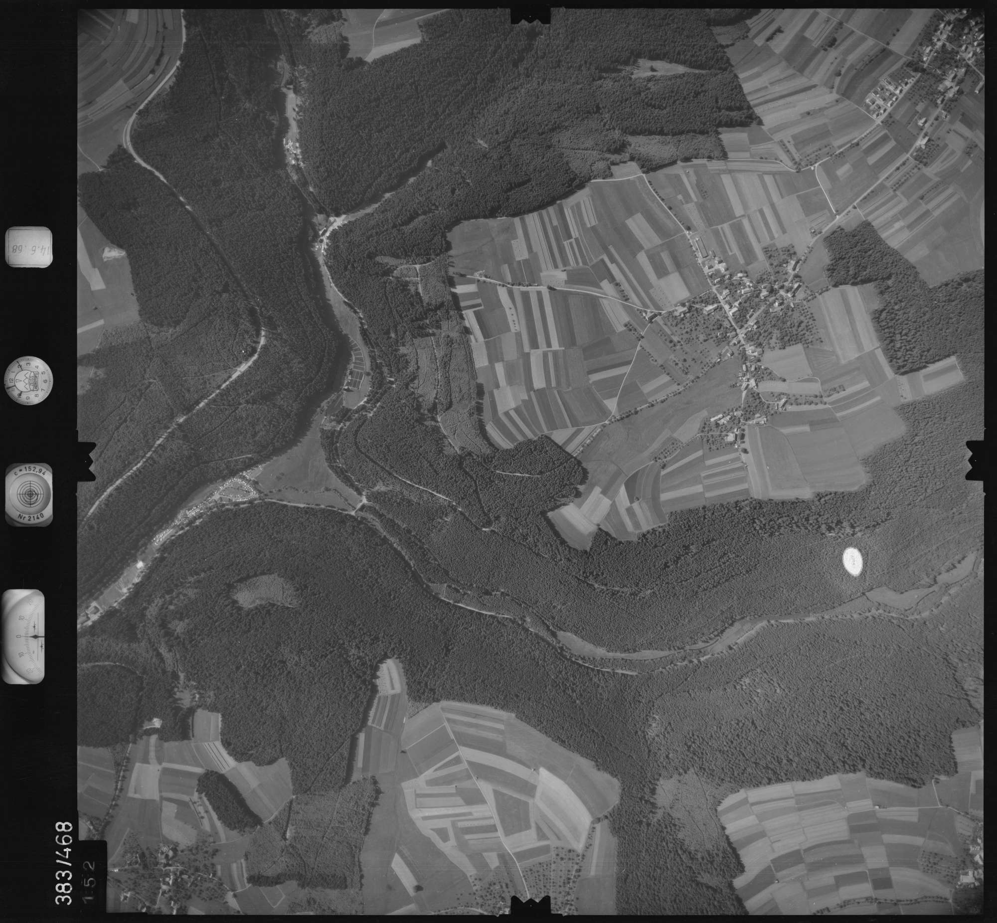 Luftbild: Film 21 Bildnr. 152, Bild 1