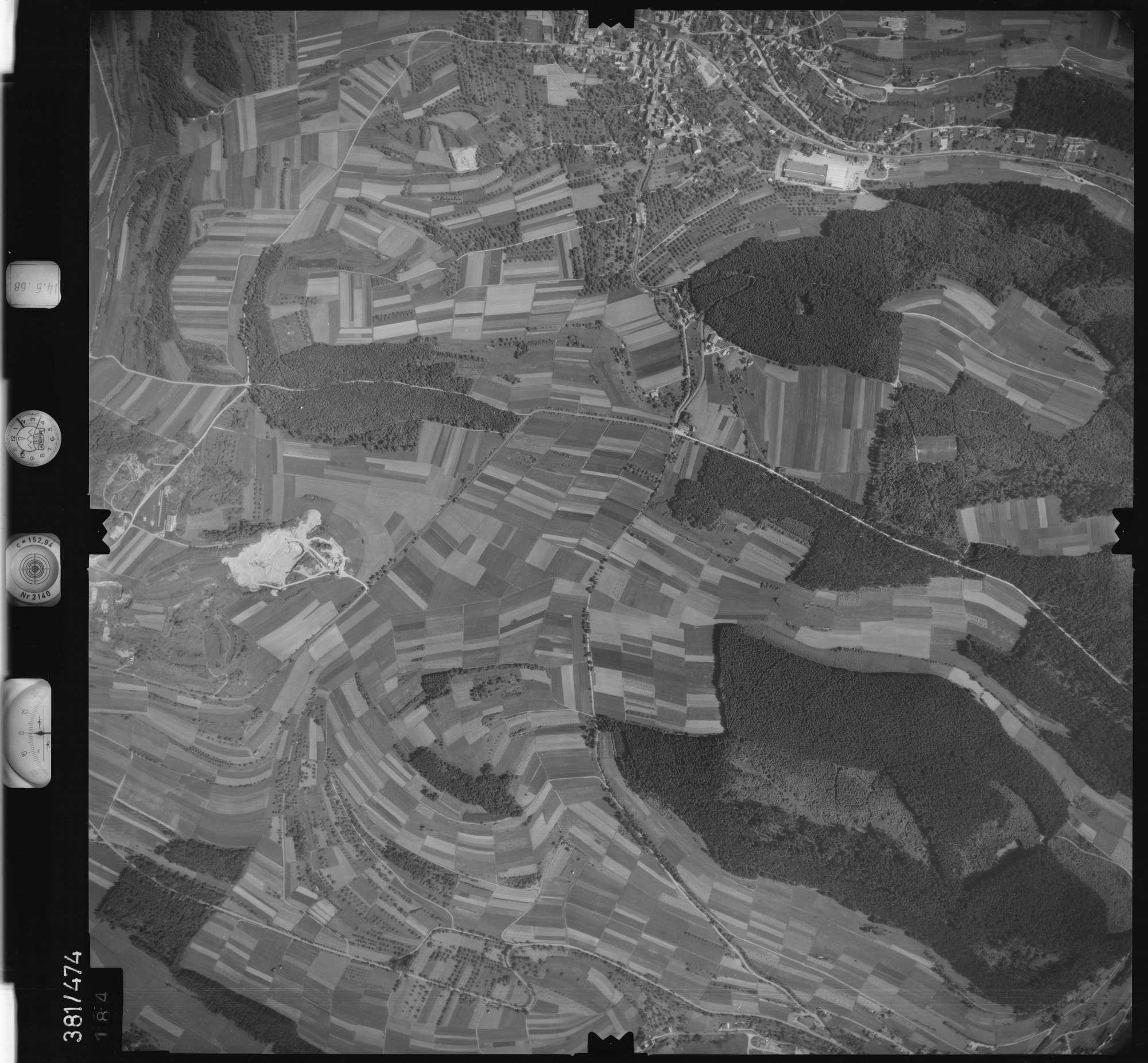 Luftbild: Film 21 Bildnr. 184, Bild 1