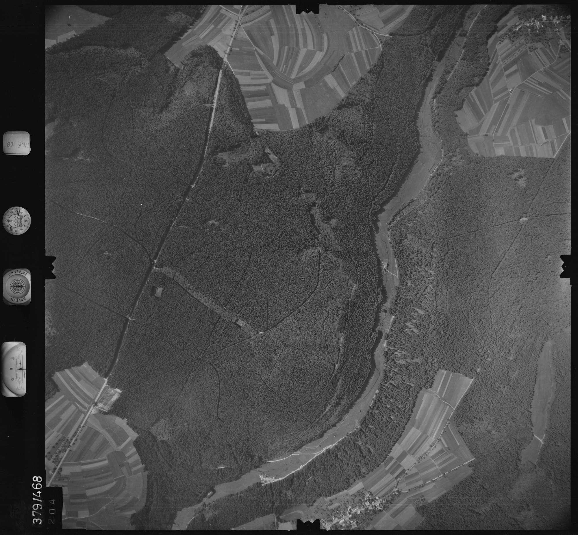 Luftbild: Film 21 Bildnr. 204, Bild 1