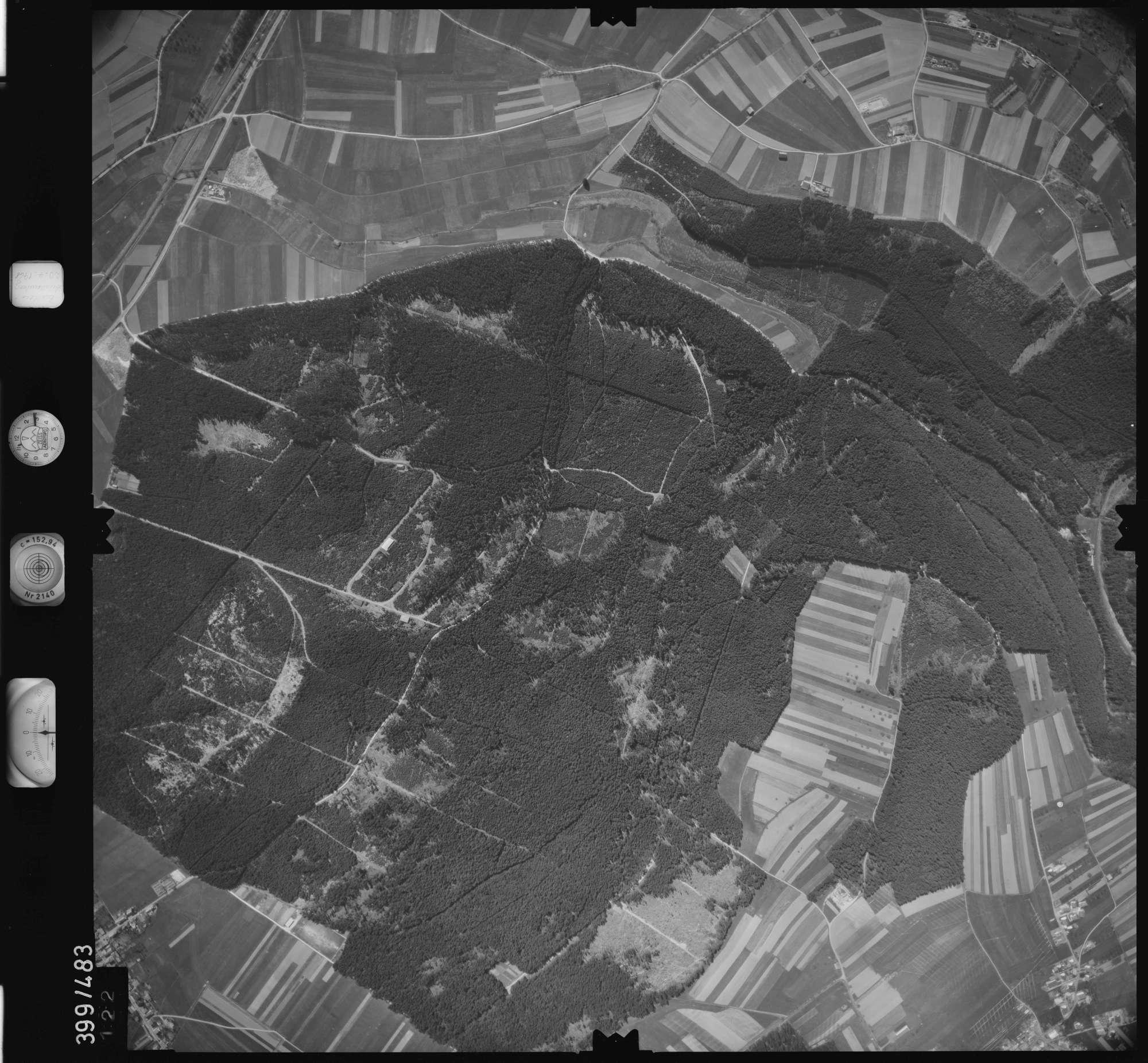 Luftbild: Film 11 Bildnr. 122, Bild 1