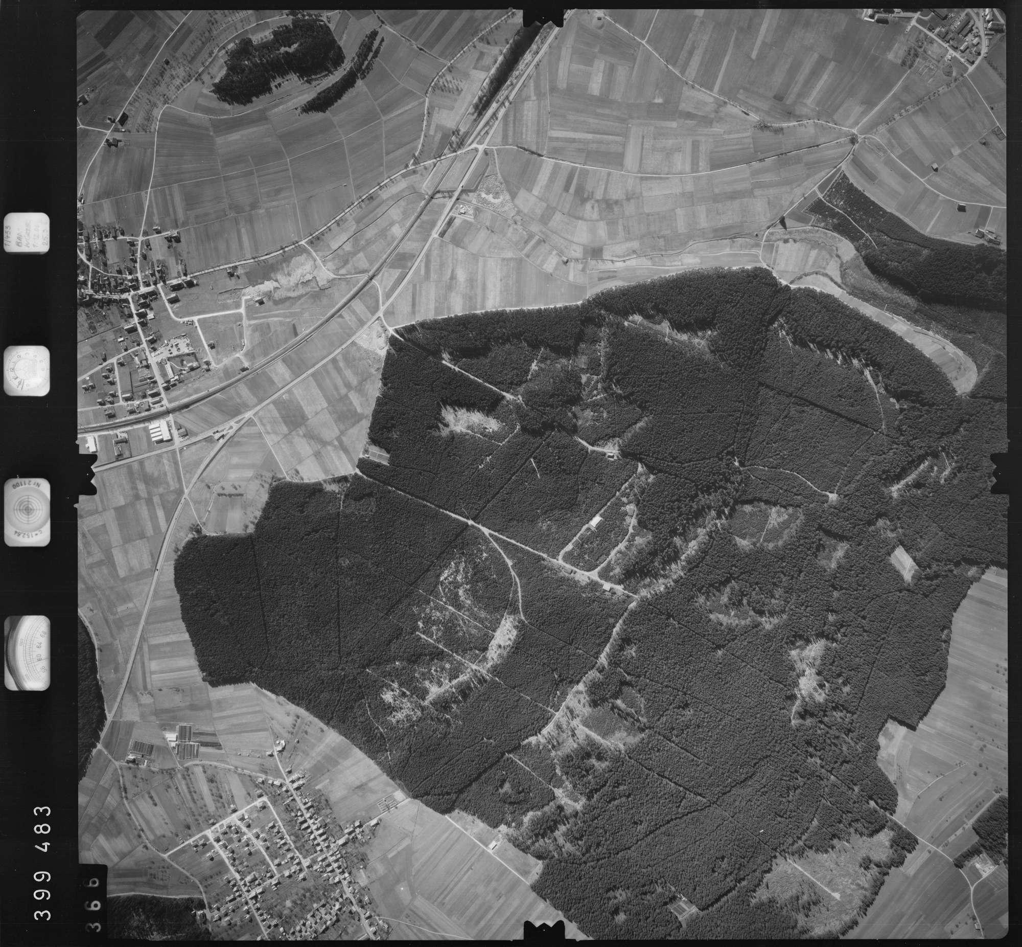 Luftbild: Film 13 Bildnr. 366, Bild 1