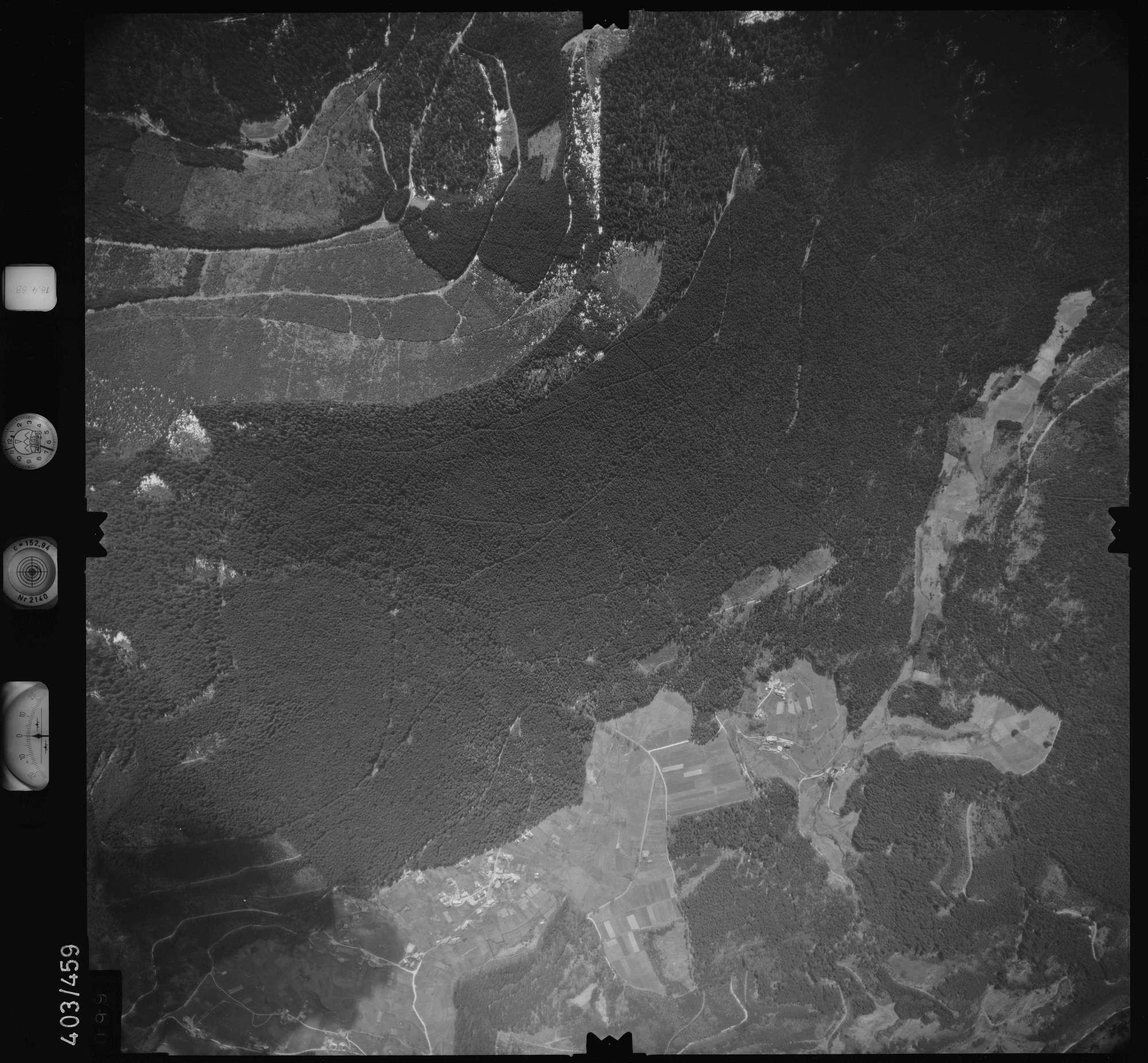 Luftbild: Film 9 Bildnr. 99, Bild 1