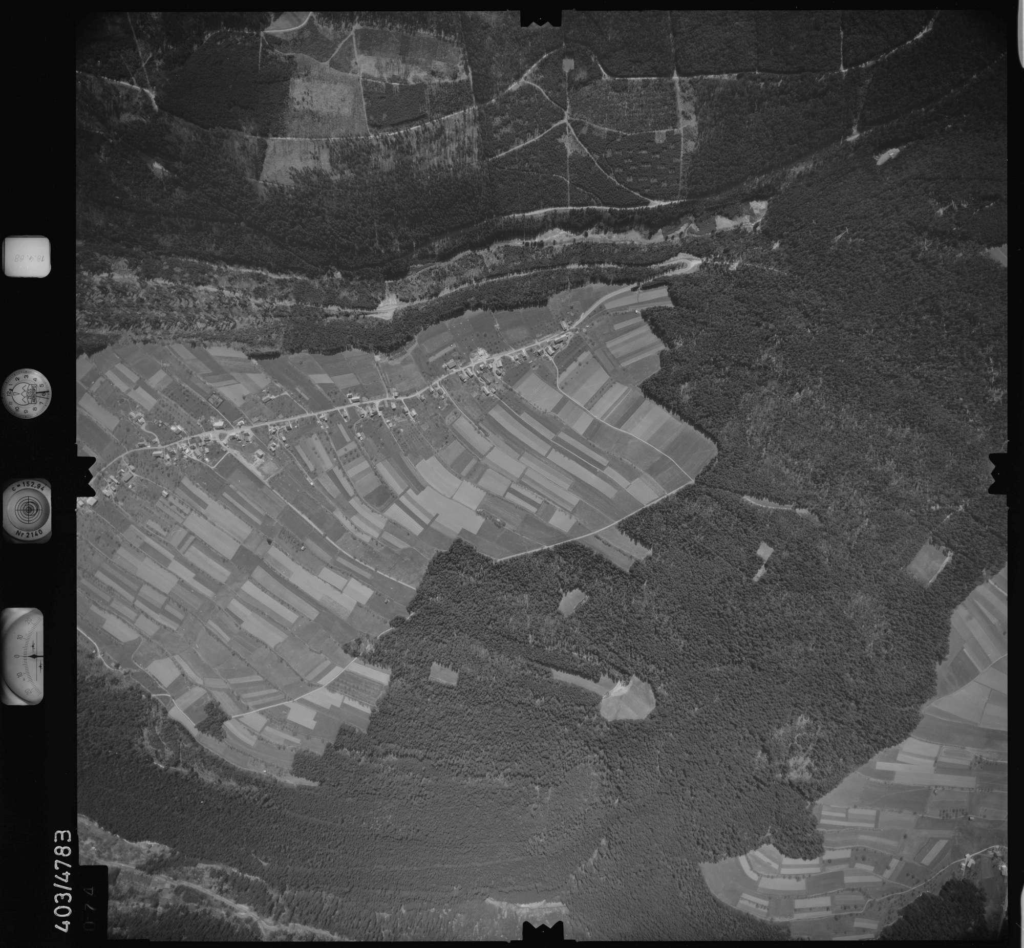 Luftbild: Film 9 Bildnr. 74, Bild 1