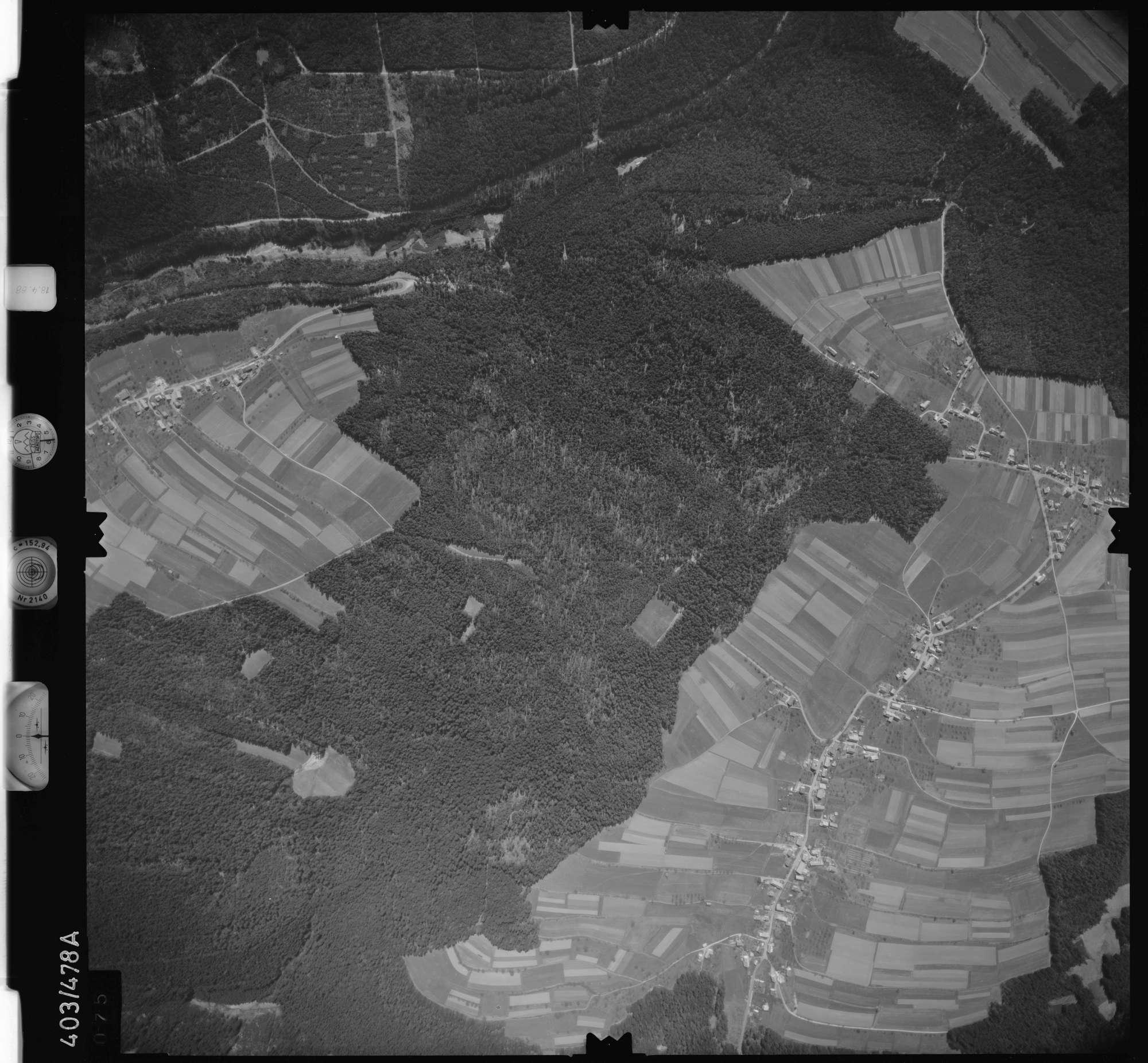 Luftbild: Film 9 Bildnr. 75, Bild 1