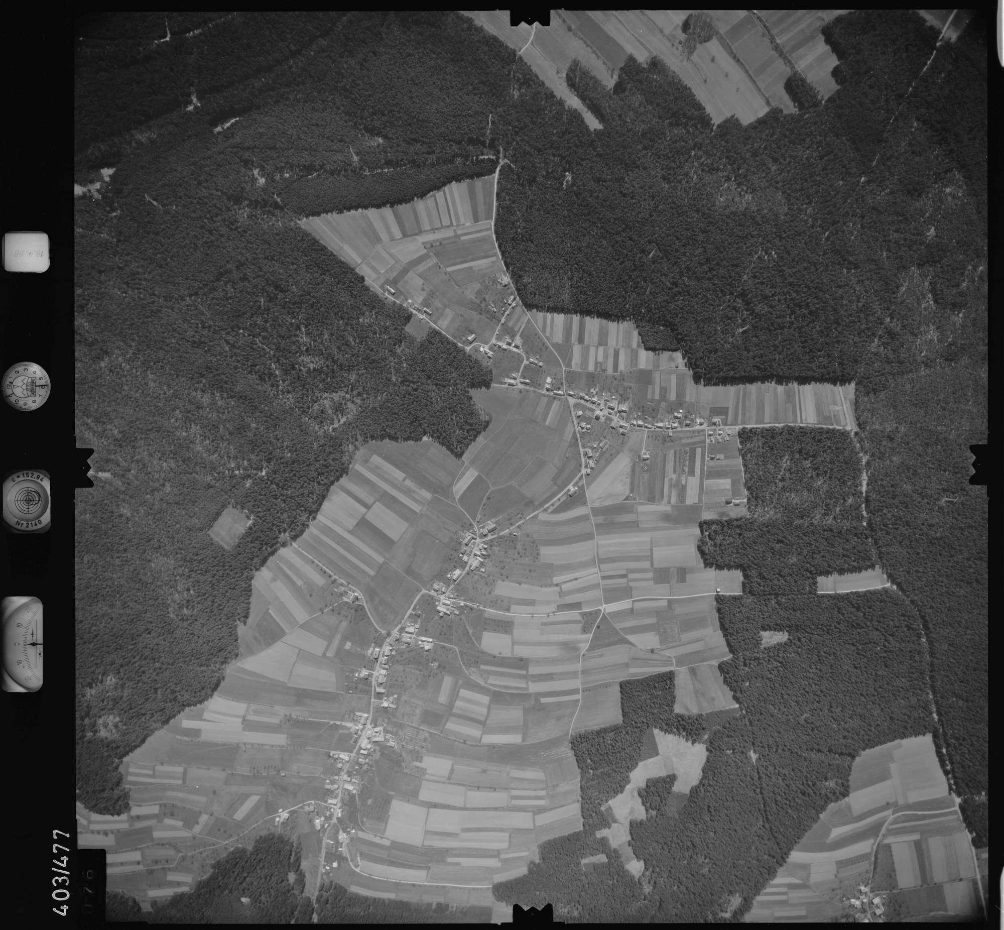Luftbild: Film 9 Bildnr. 76, Bild 1