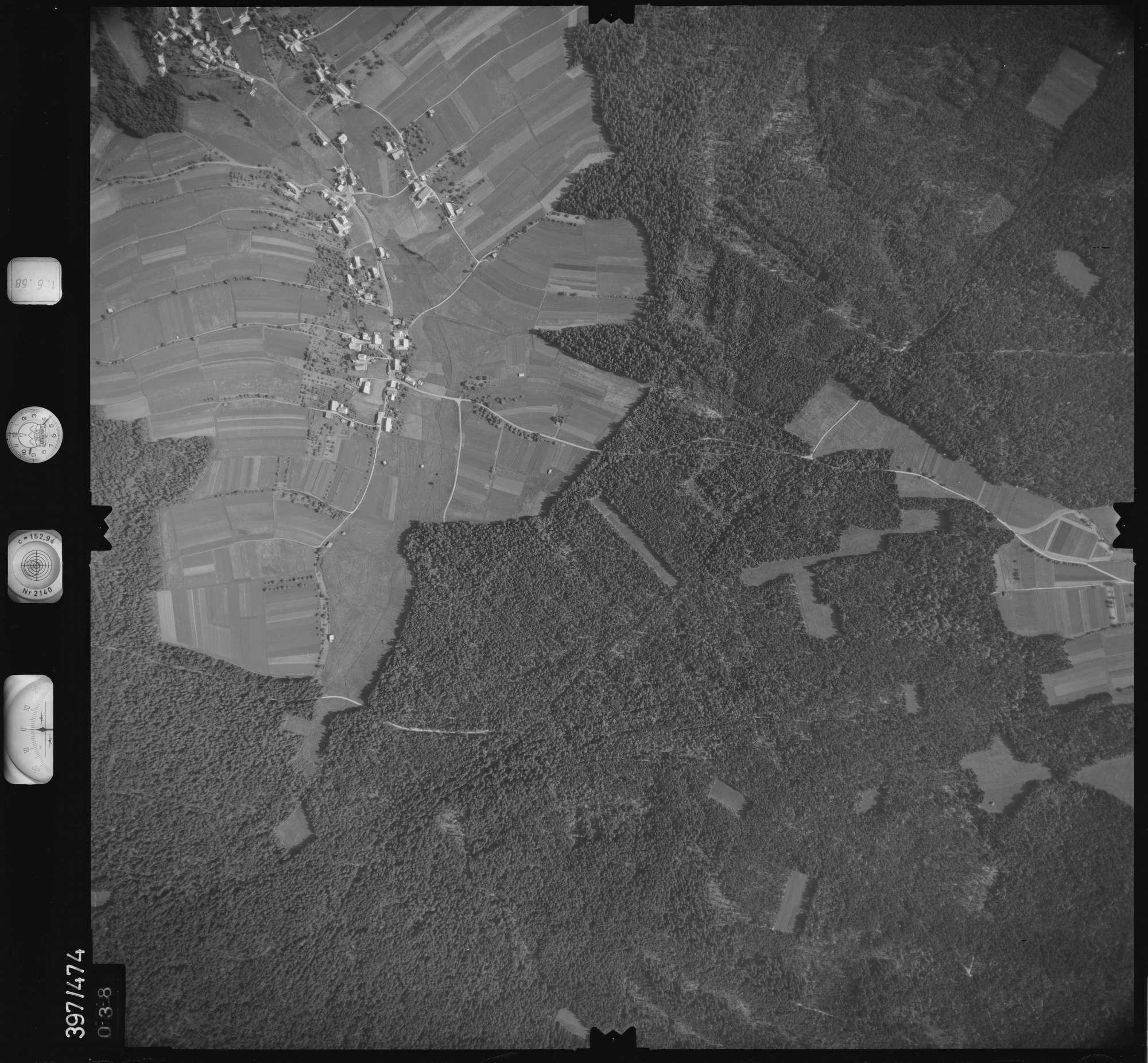 Luftbild: Film 16 Bildnr. 38, Bild 1