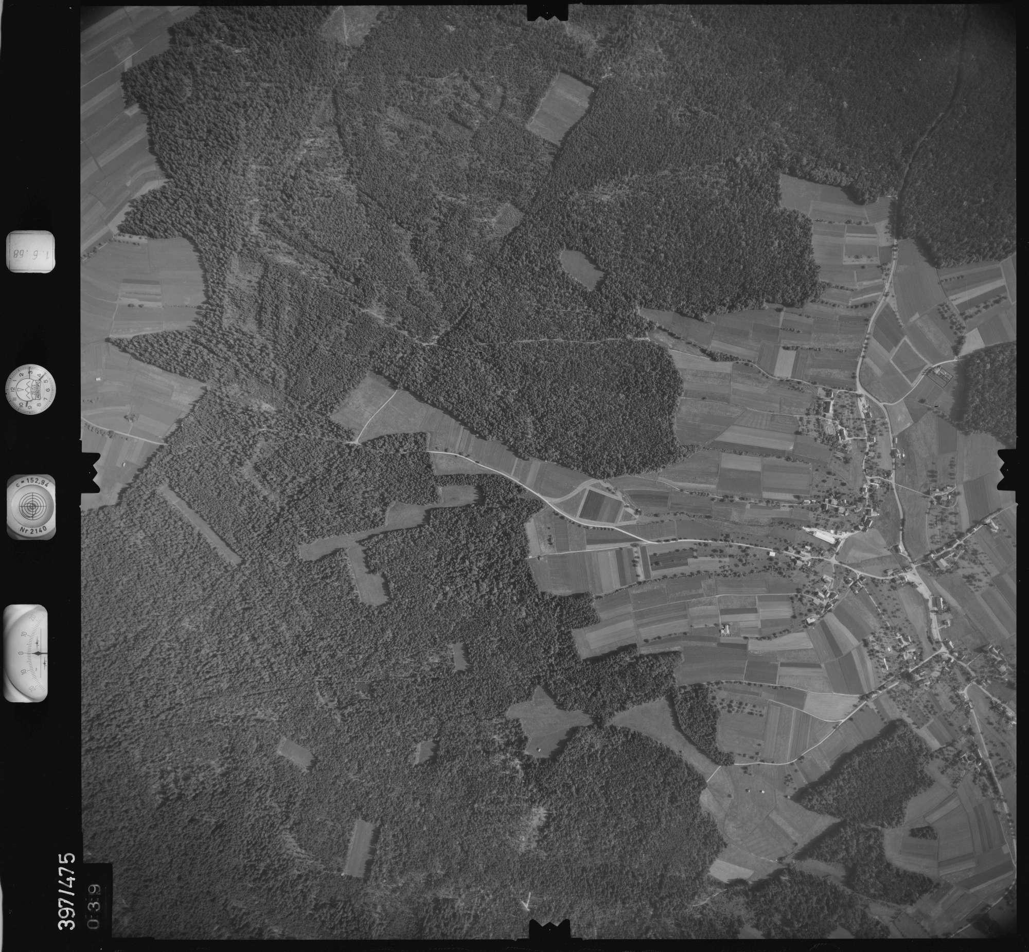 Luftbild: Film 16 Bildnr. 39, Bild 1