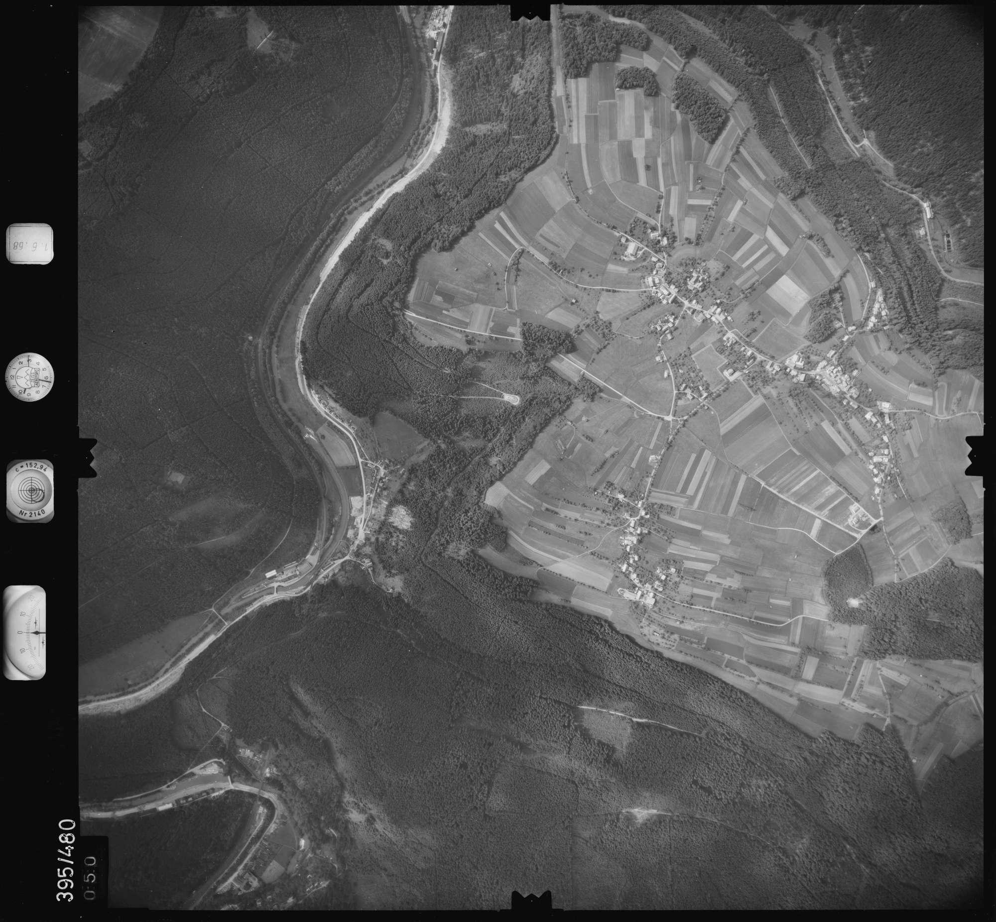 Luftbild: Film 16 Bildnr. 50, Bild 1