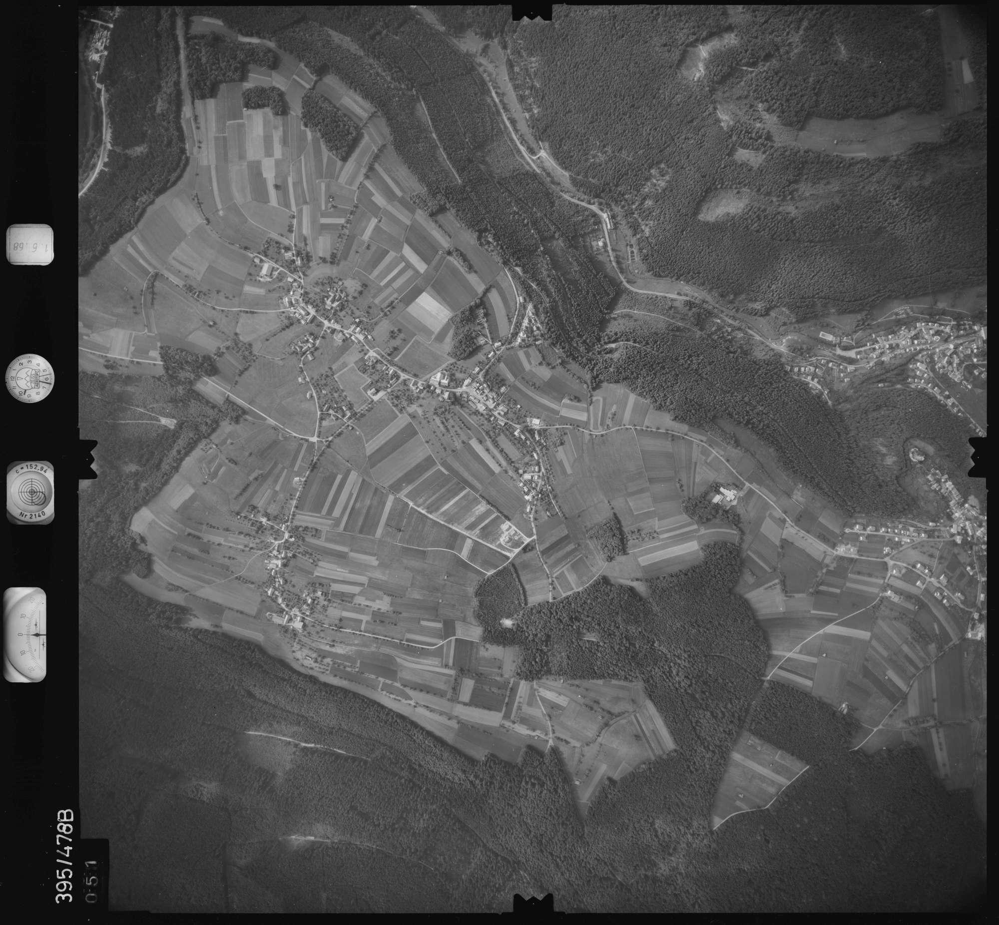 Luftbild: Film 16 Bildnr. 51, Bild 1