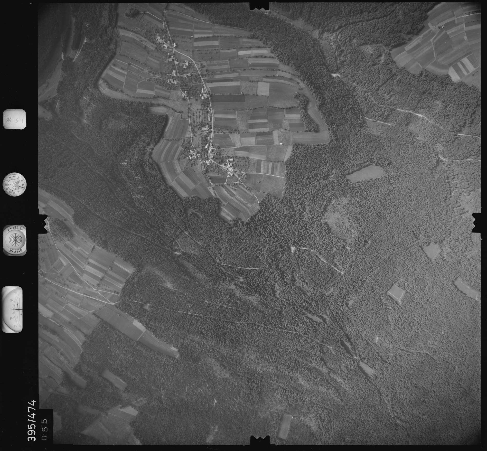 Luftbild: Film 16 Bildnr. 55, Bild 1