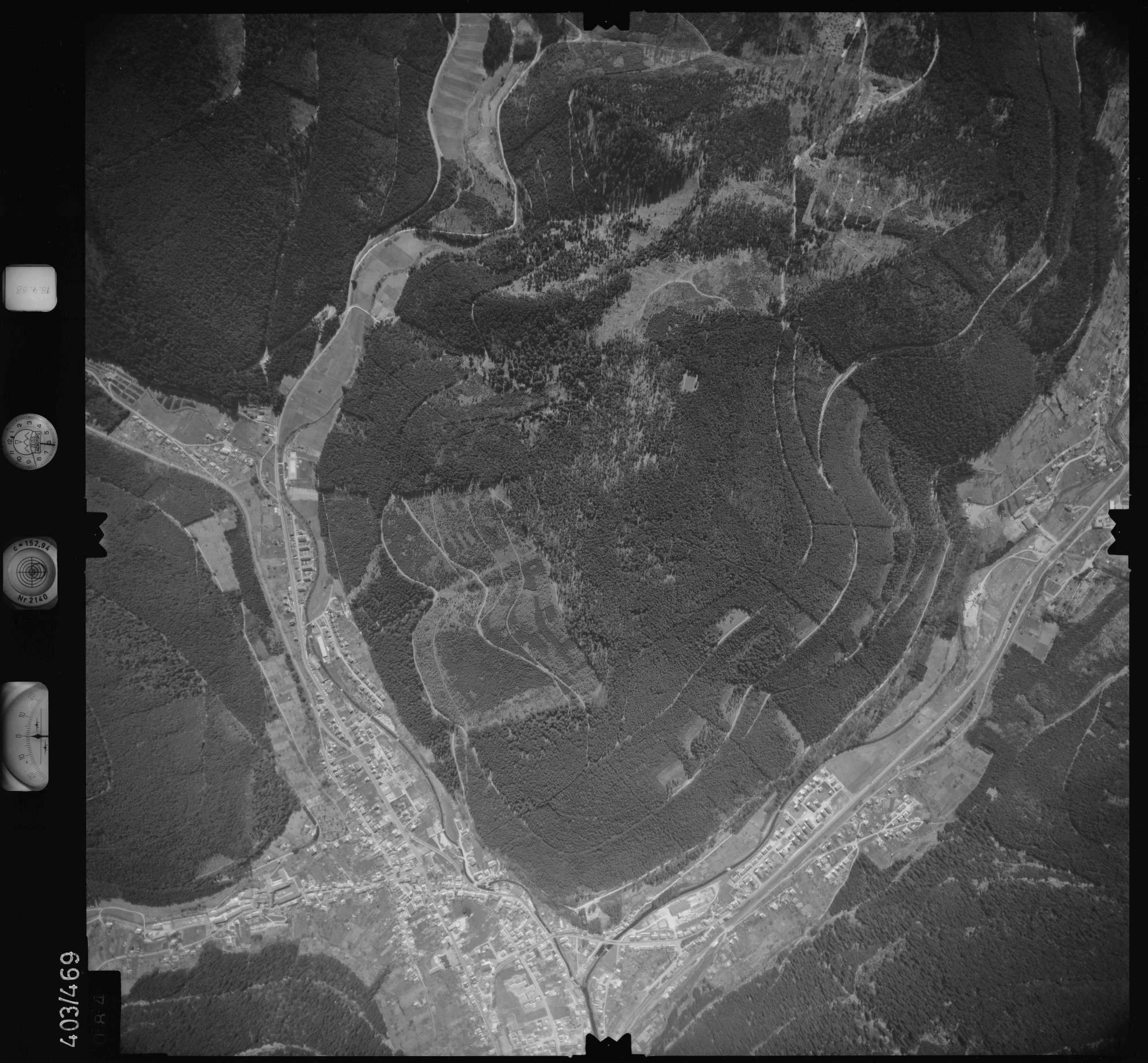 Luftbild: Film 9 Bildnr. 84, Bild 1