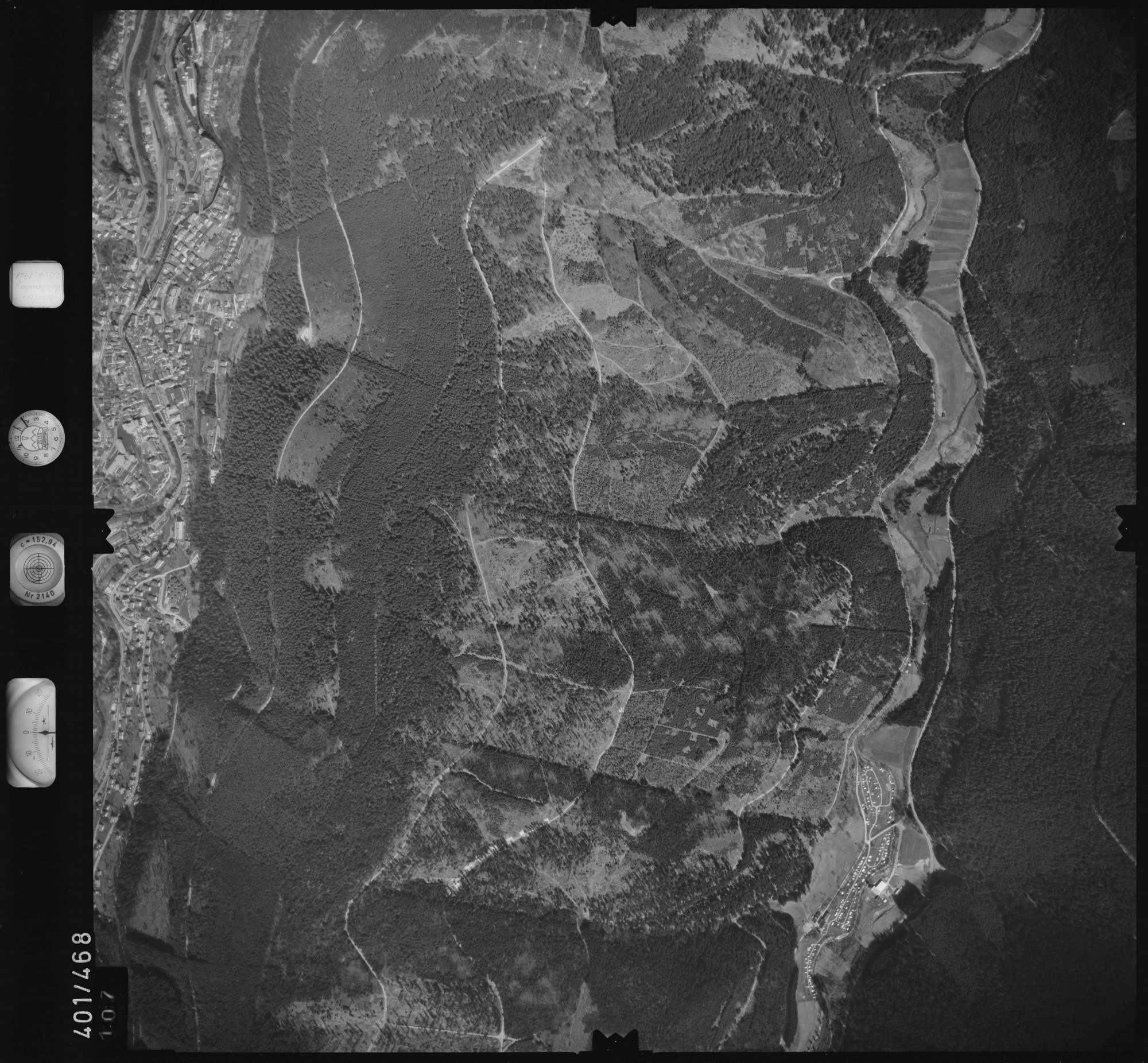 Luftbild: Film 11 Bildnr. 107, Bild 1