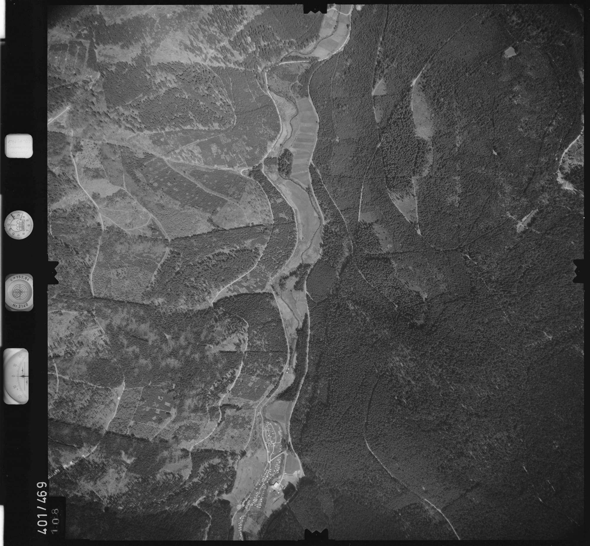 Luftbild: Film 11 Bildnr. 108, Bild 1