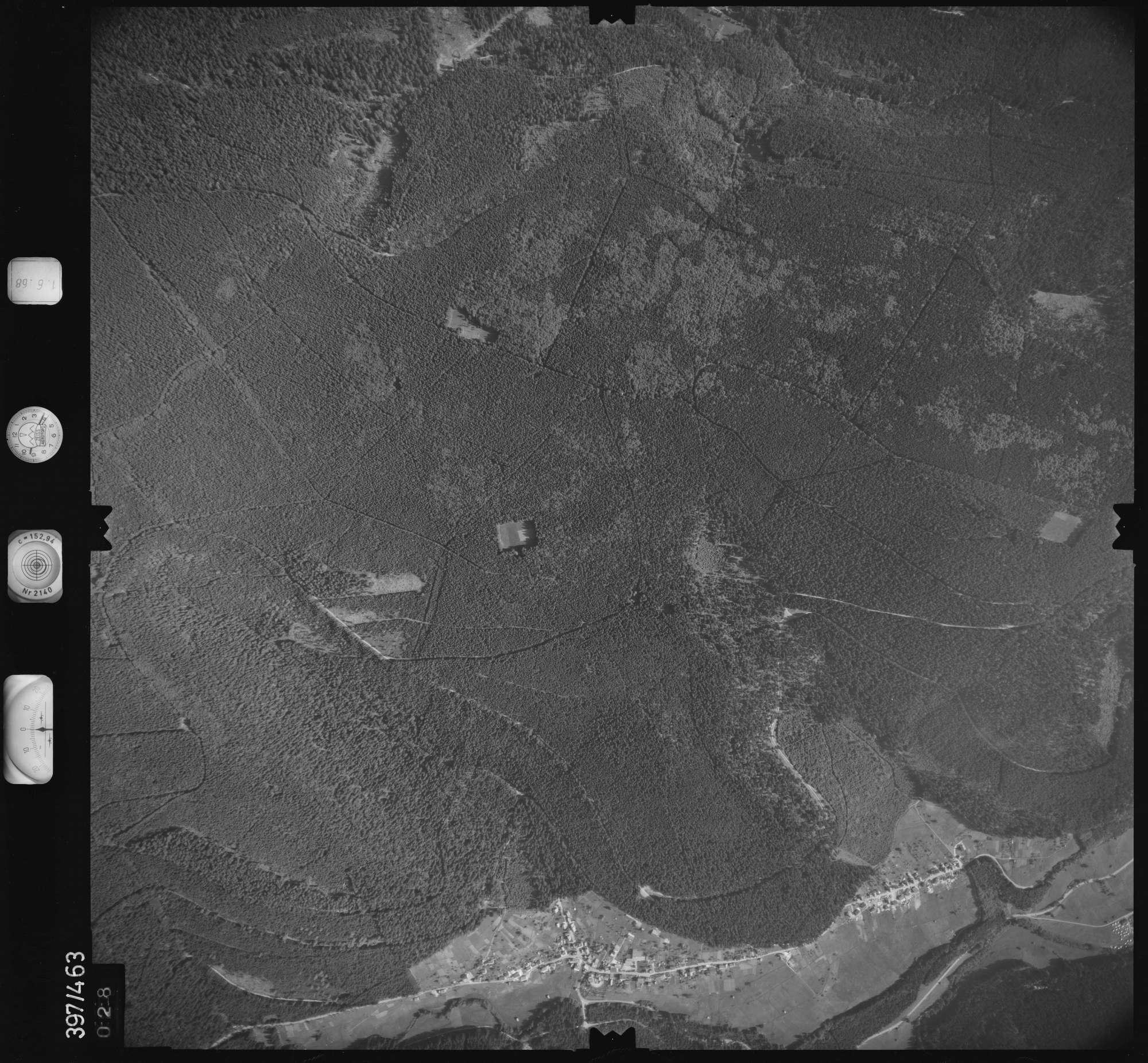 Luftbild: Film 16 Bildnr. 28, Bild 1