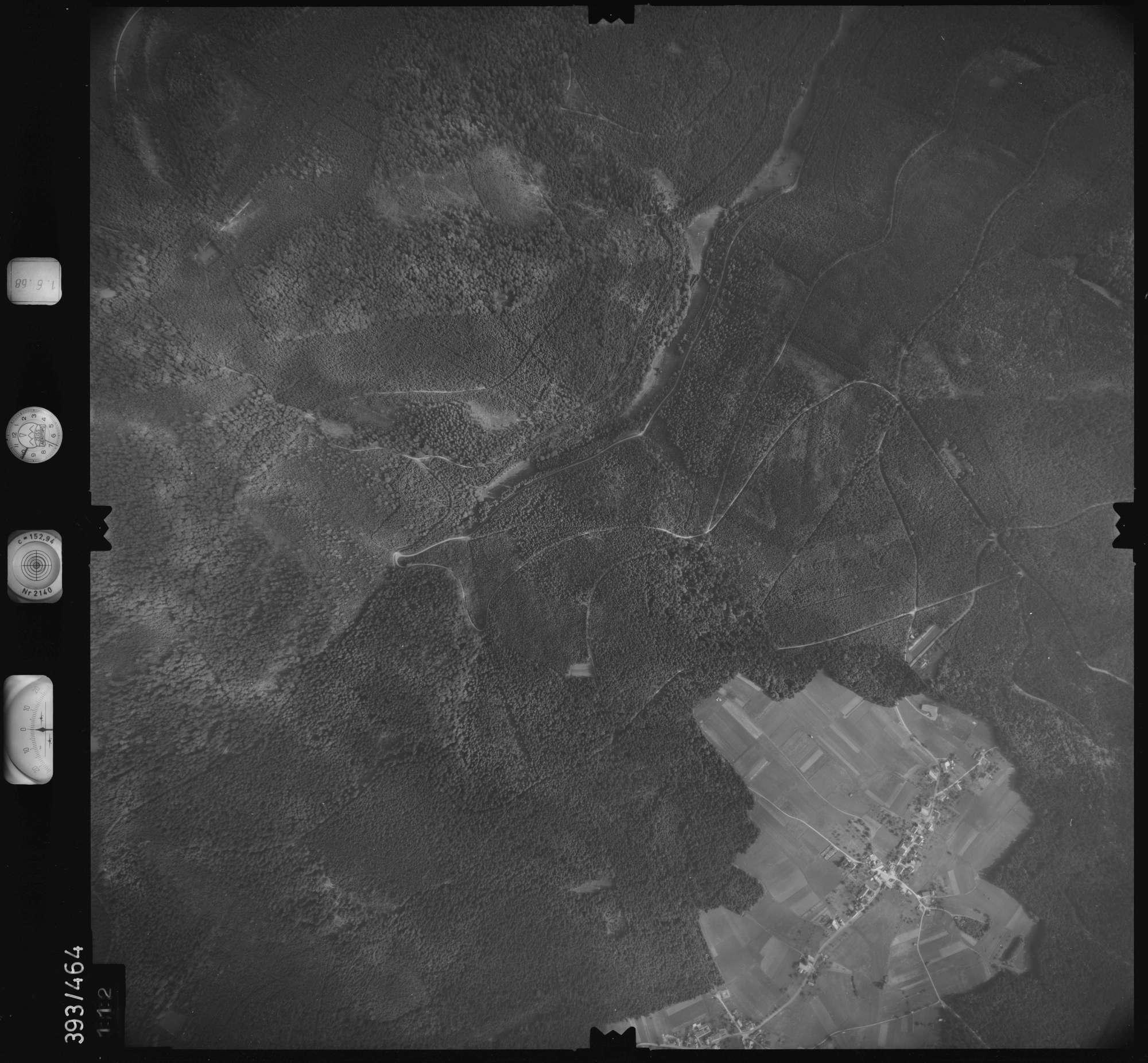 Luftbild: Film 16 Bildnr. 112, Bild 1