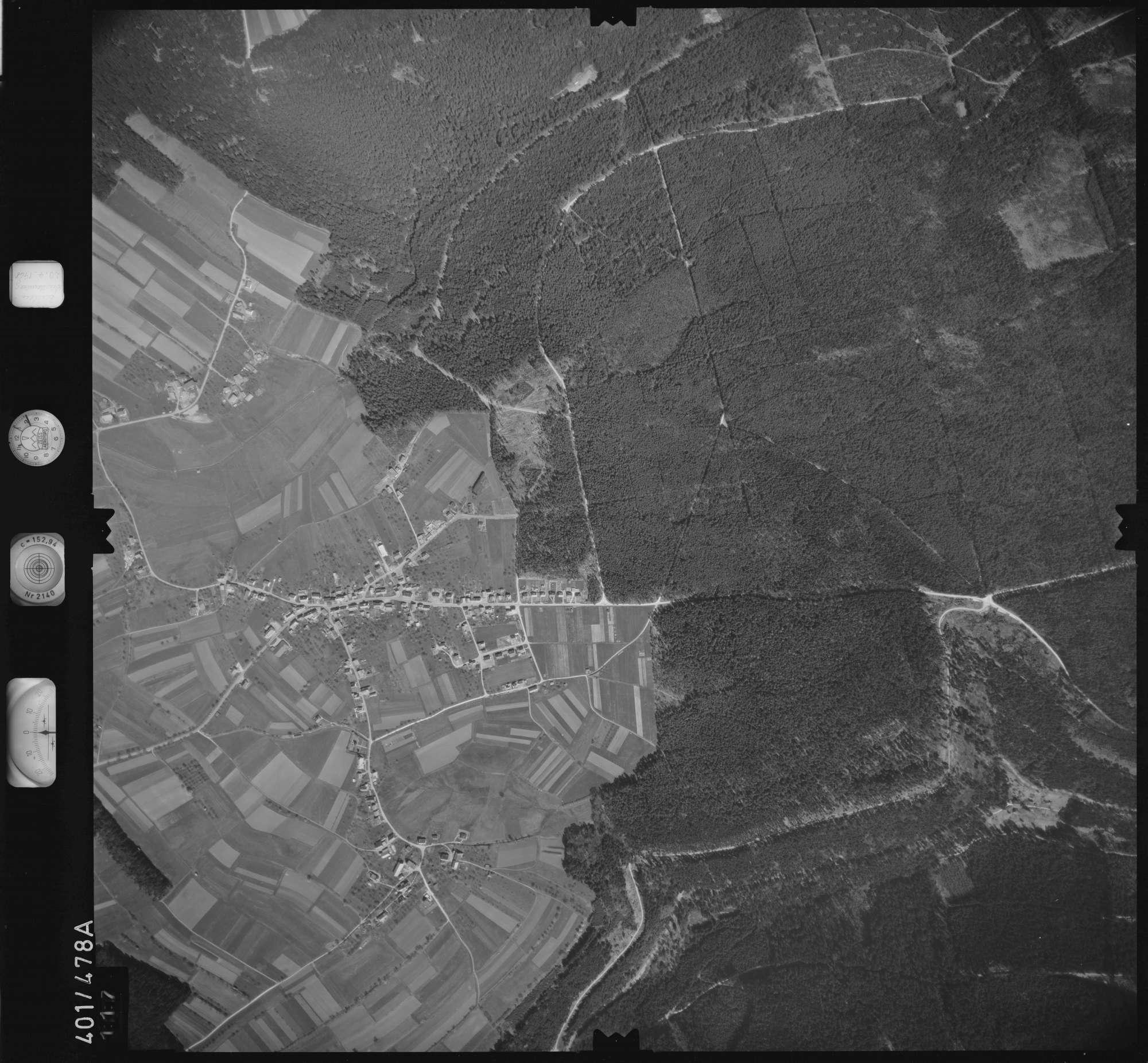Luftbild: Film 11 Bildnr. 117, Bild 1