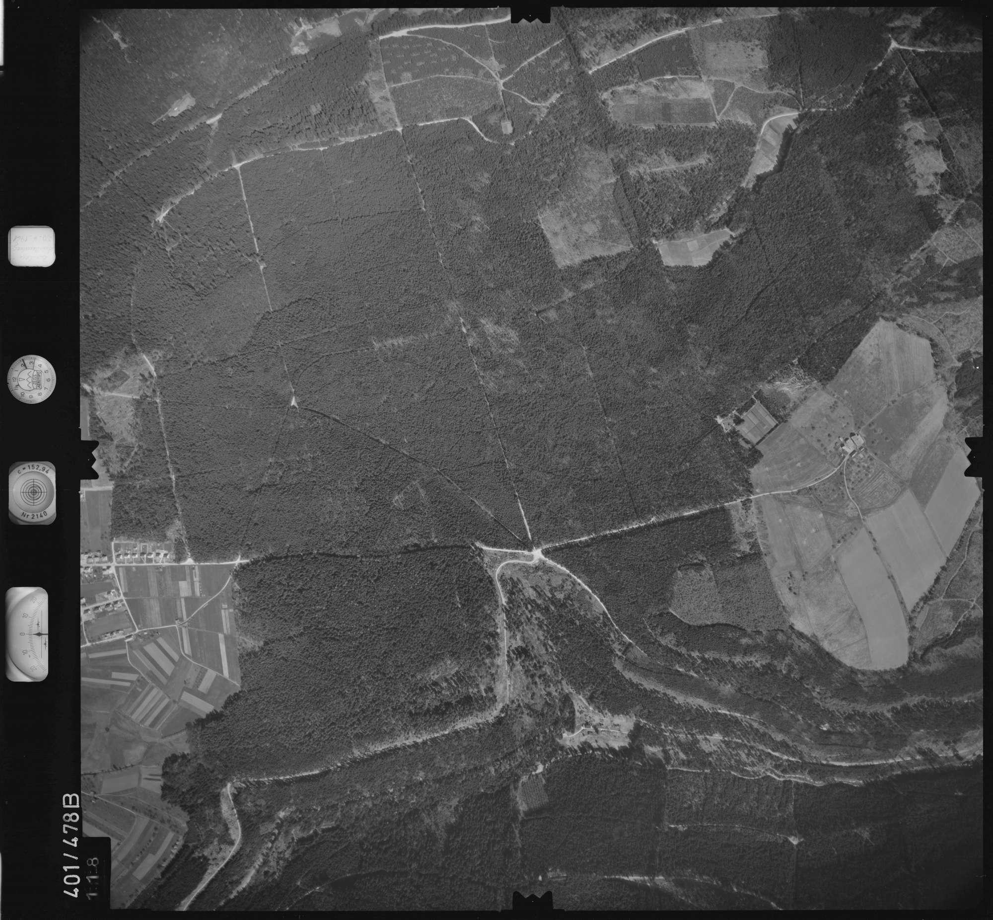 Luftbild: Film 11 Bildnr. 118, Bild 1