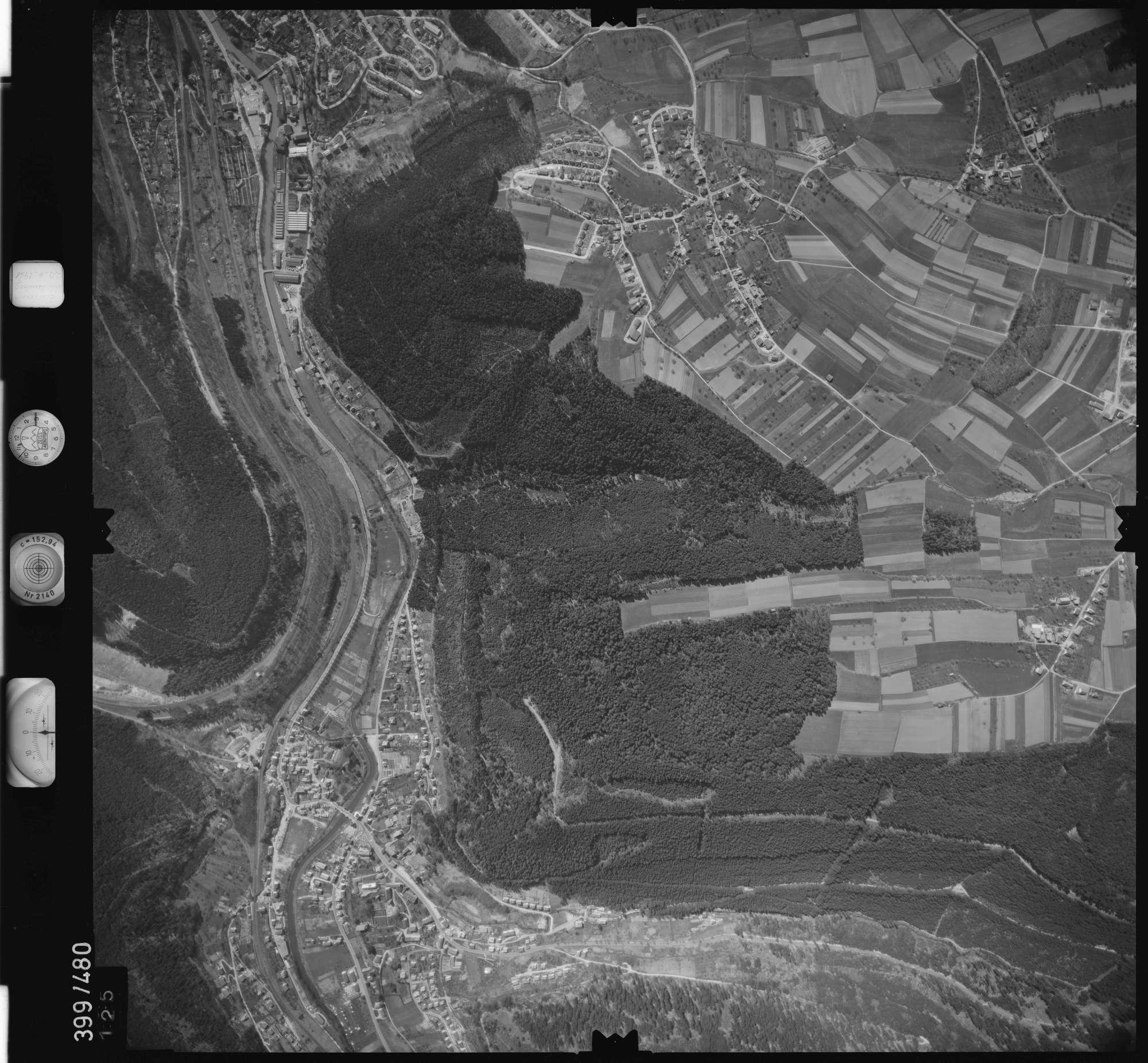 Luftbild: Film 11 Bildnr. 125, Bild 1
