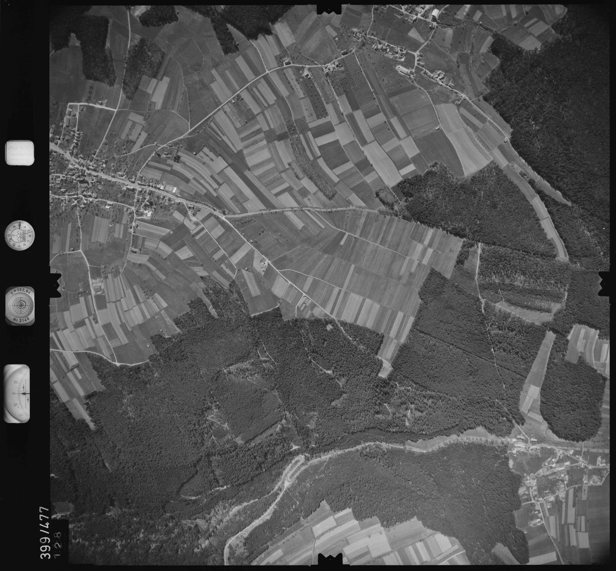 Luftbild: Film 11 Bildnr. 128, Bild 1
