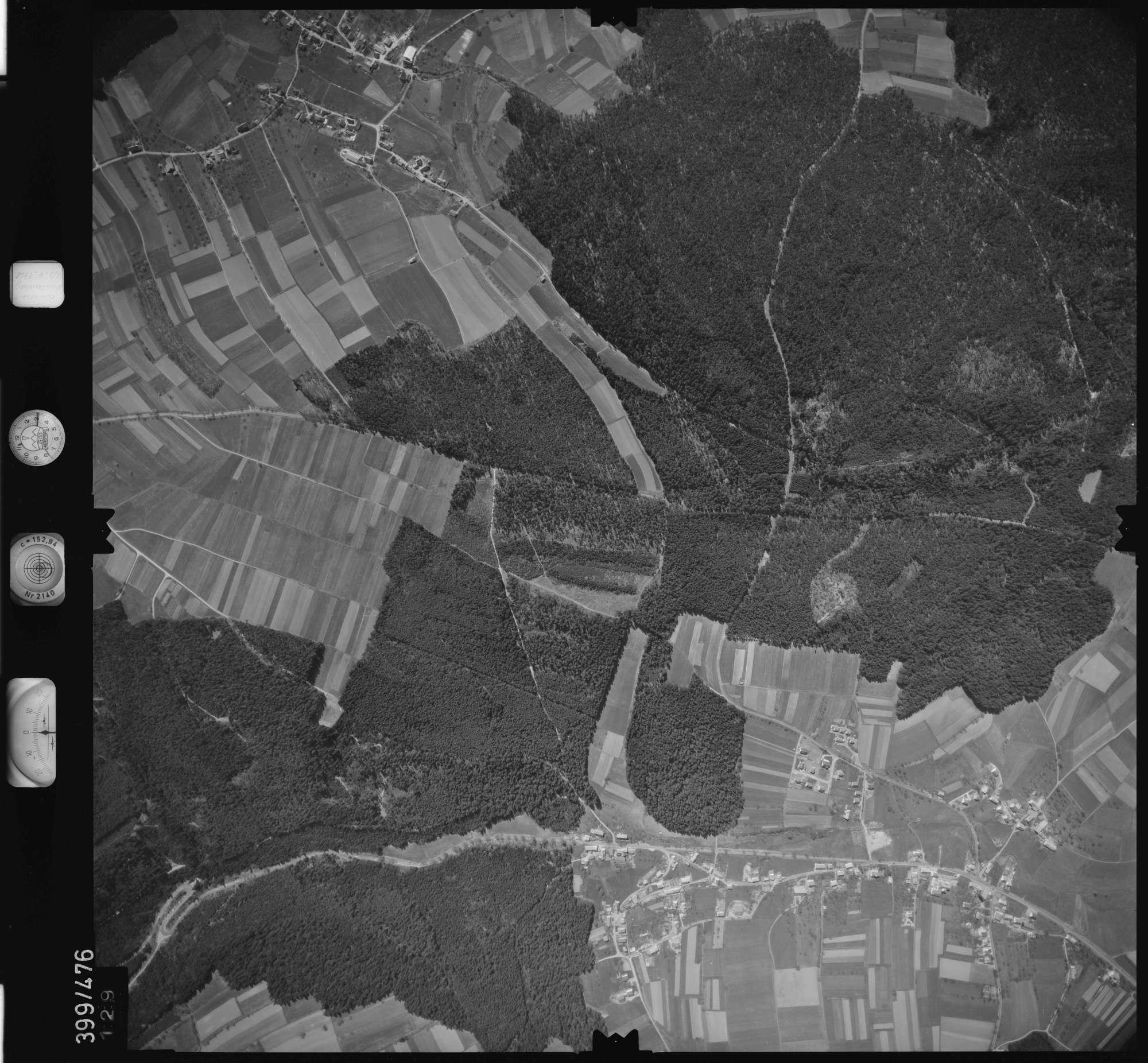 Luftbild: Film 11 Bildnr. 129, Bild 1