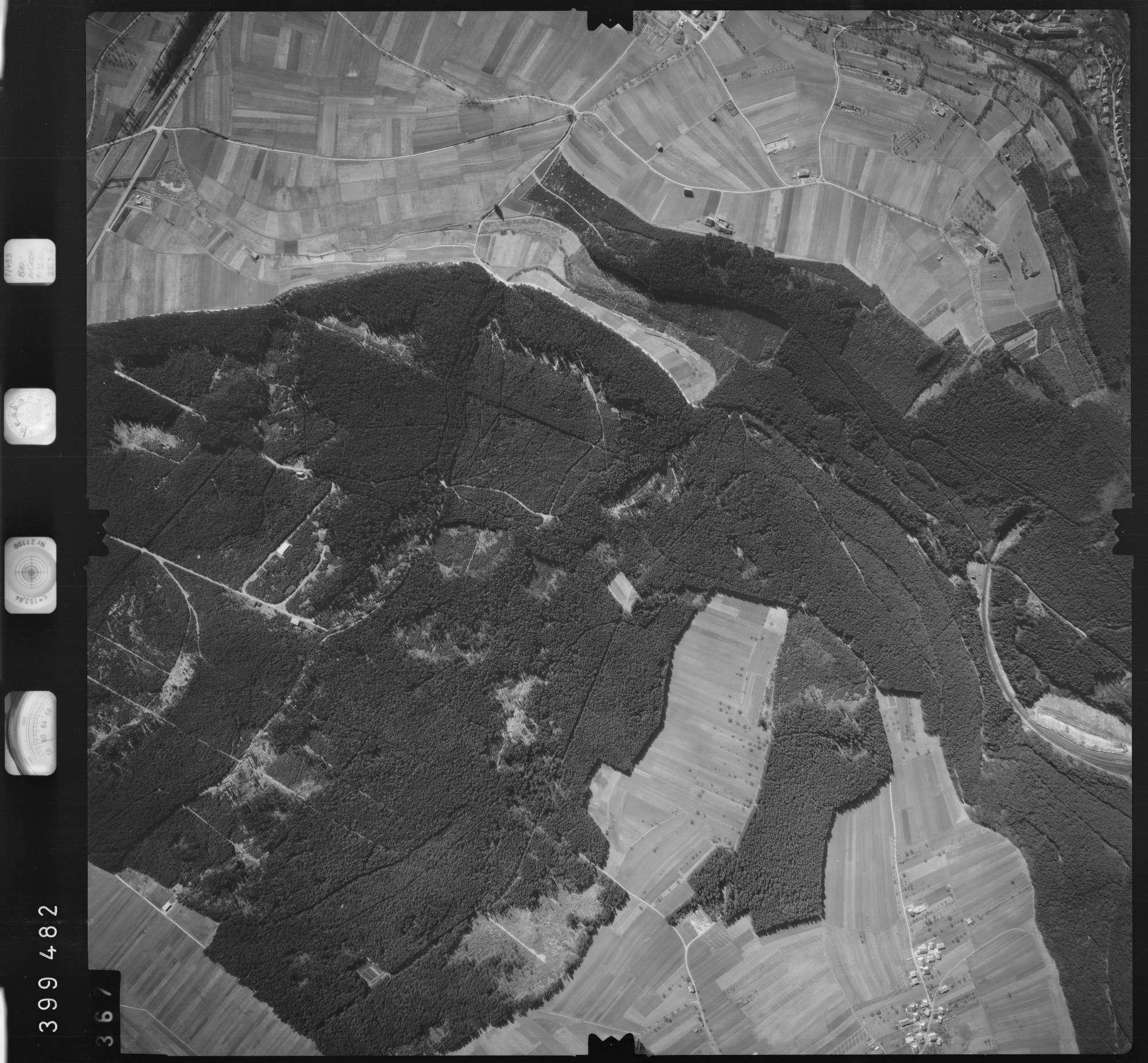 Luftbild: Film 13 Bildnr. 367, Bild 1