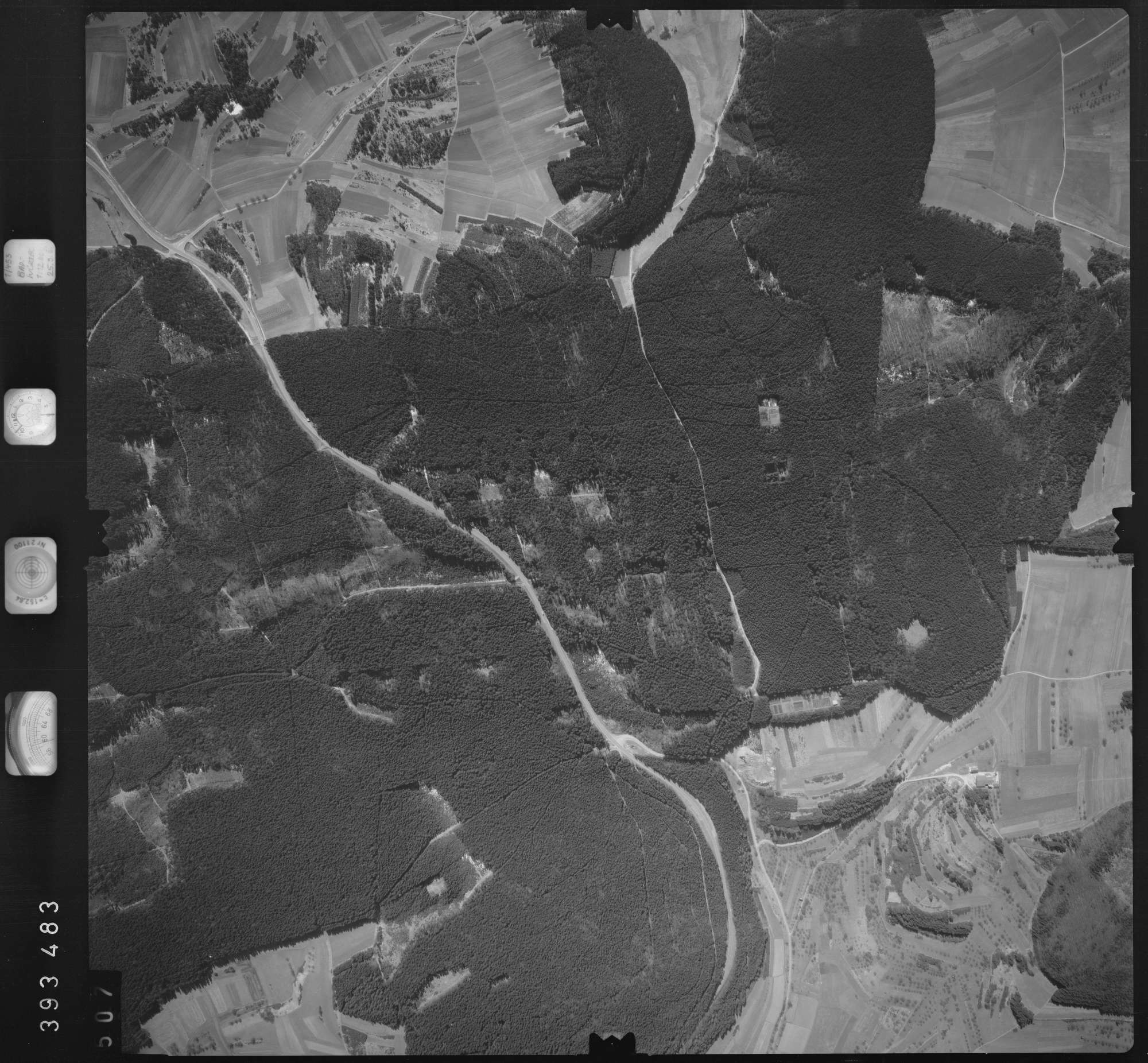 Luftbild: Film 13 Bildnr. 507, Bild 1