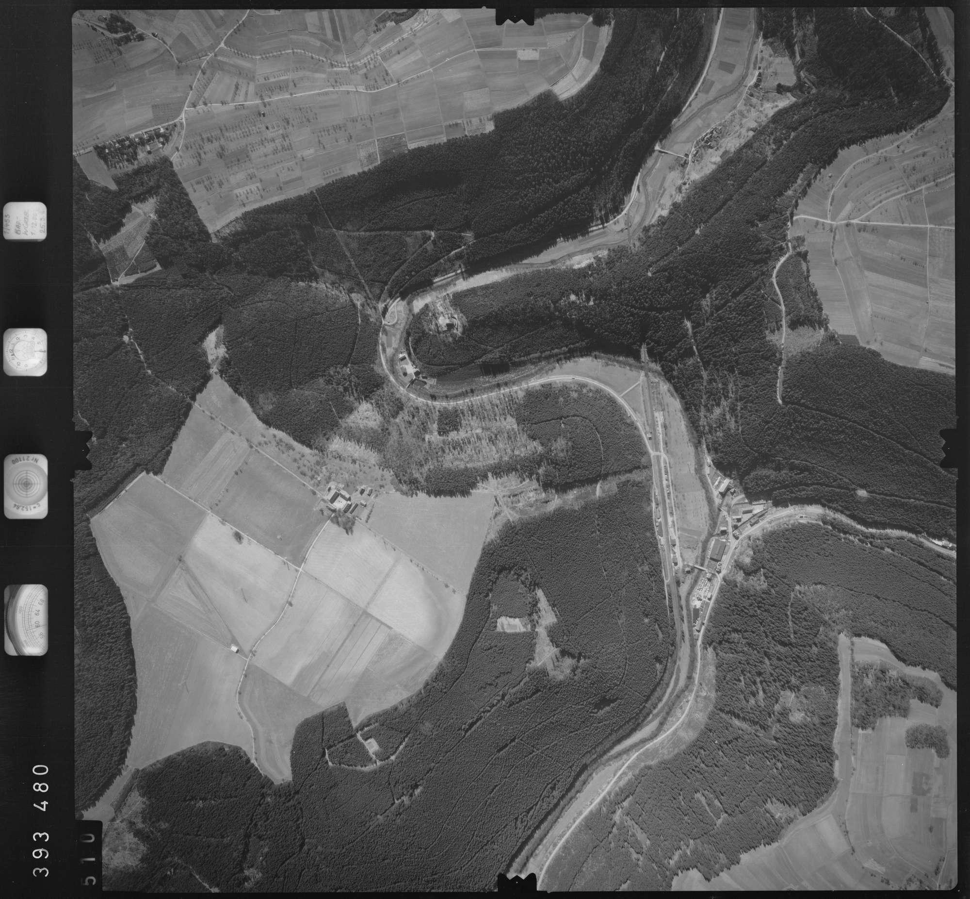 Luftbild: Film 13 Bildnr. 510, Bild 1