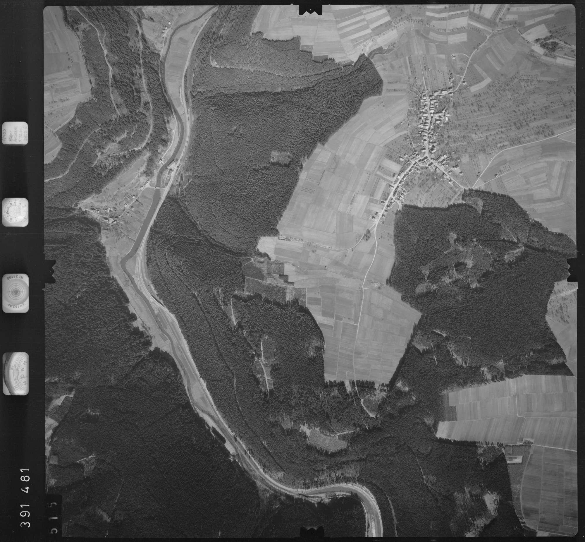Luftbild: Film 13 Bildnr. 515, Bild 1