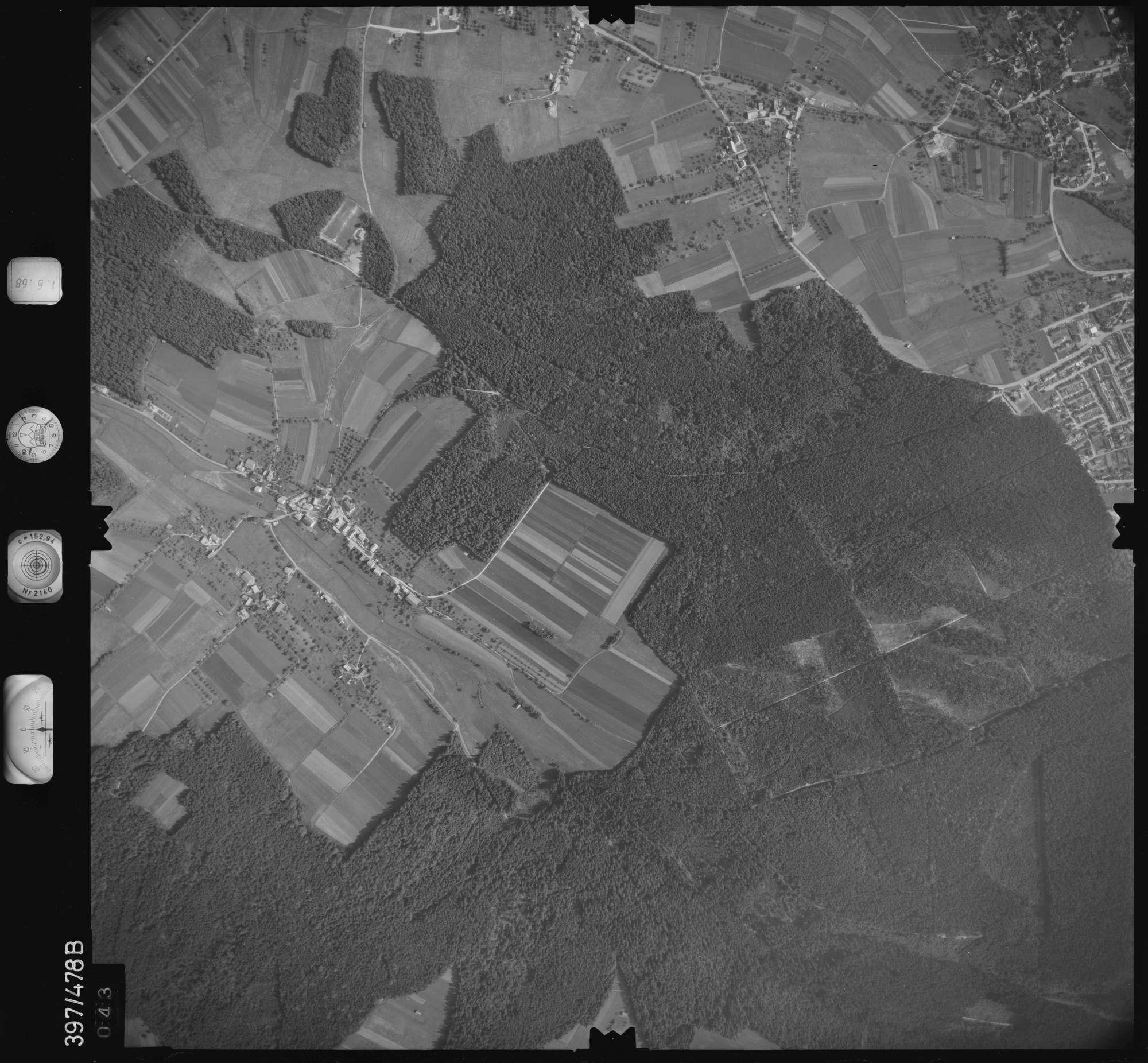 Luftbild: Film 16 Bildnr. 43, Bild 1