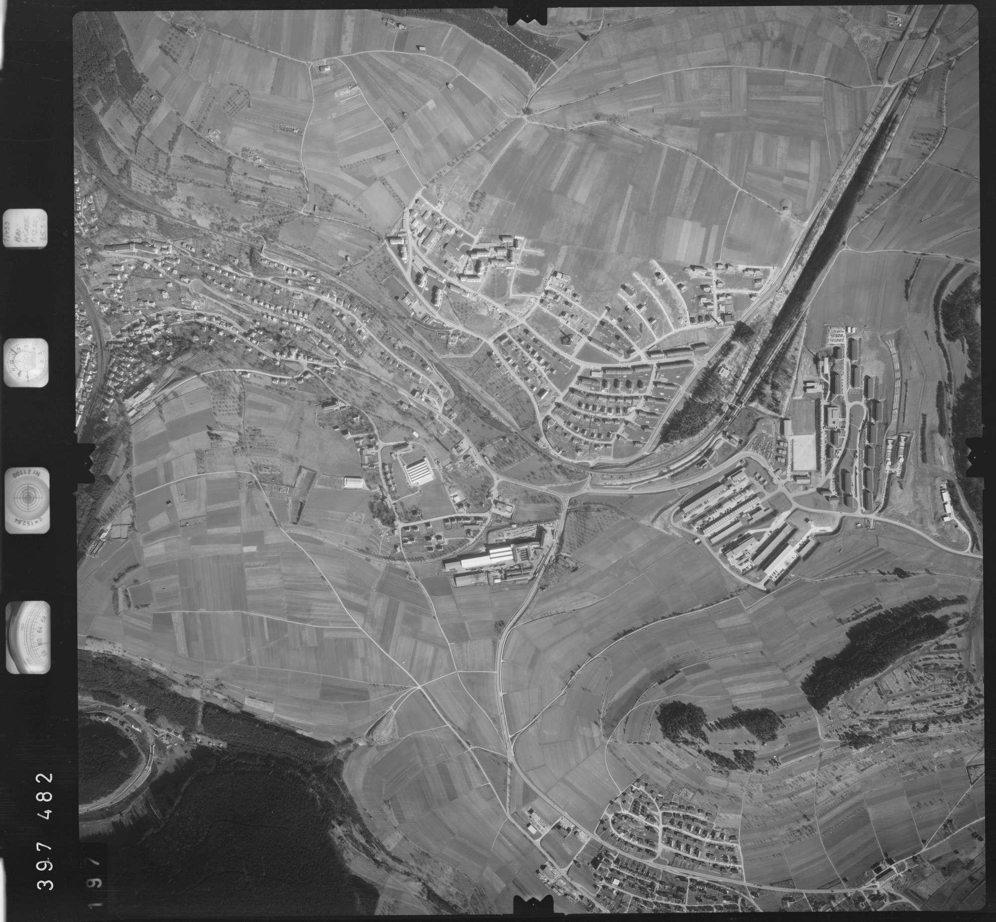 Luftbild: Film 17 Bildnr. 197, Bild 1