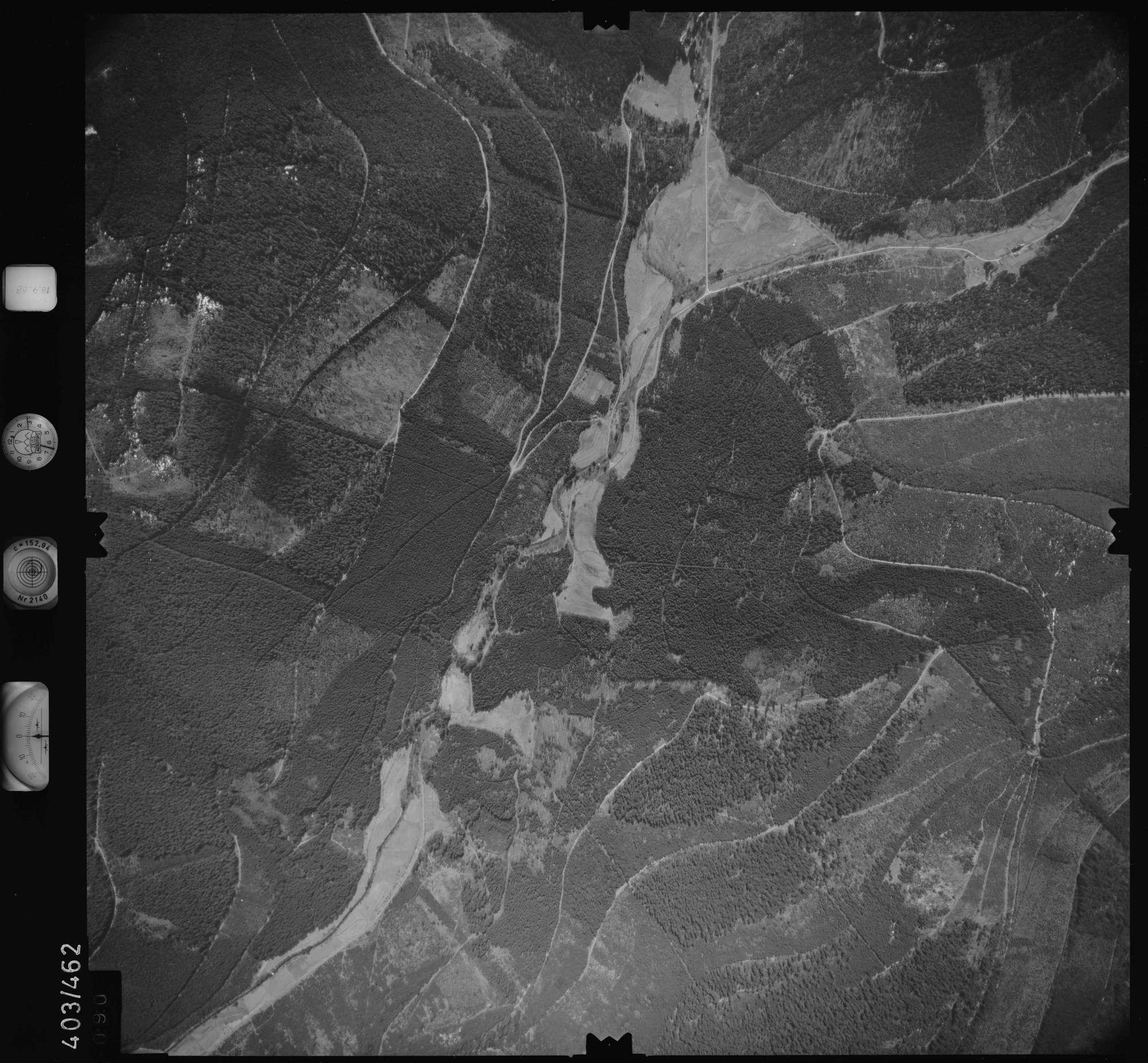 Luftbild: Film 9 Bildnr. 90, Bild 1