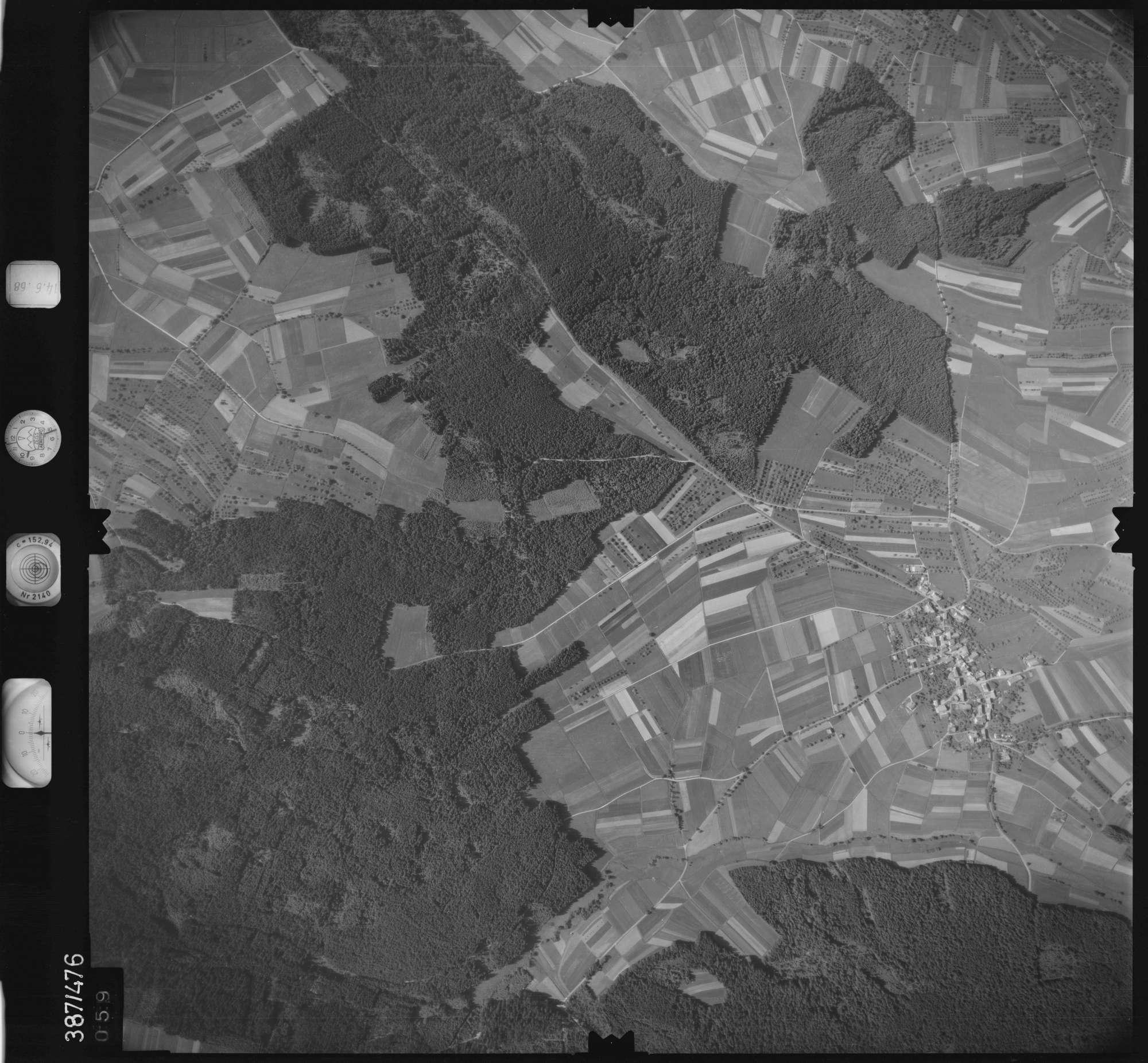 Luftbild: Film 21 Bildnr. 59, Bild 1