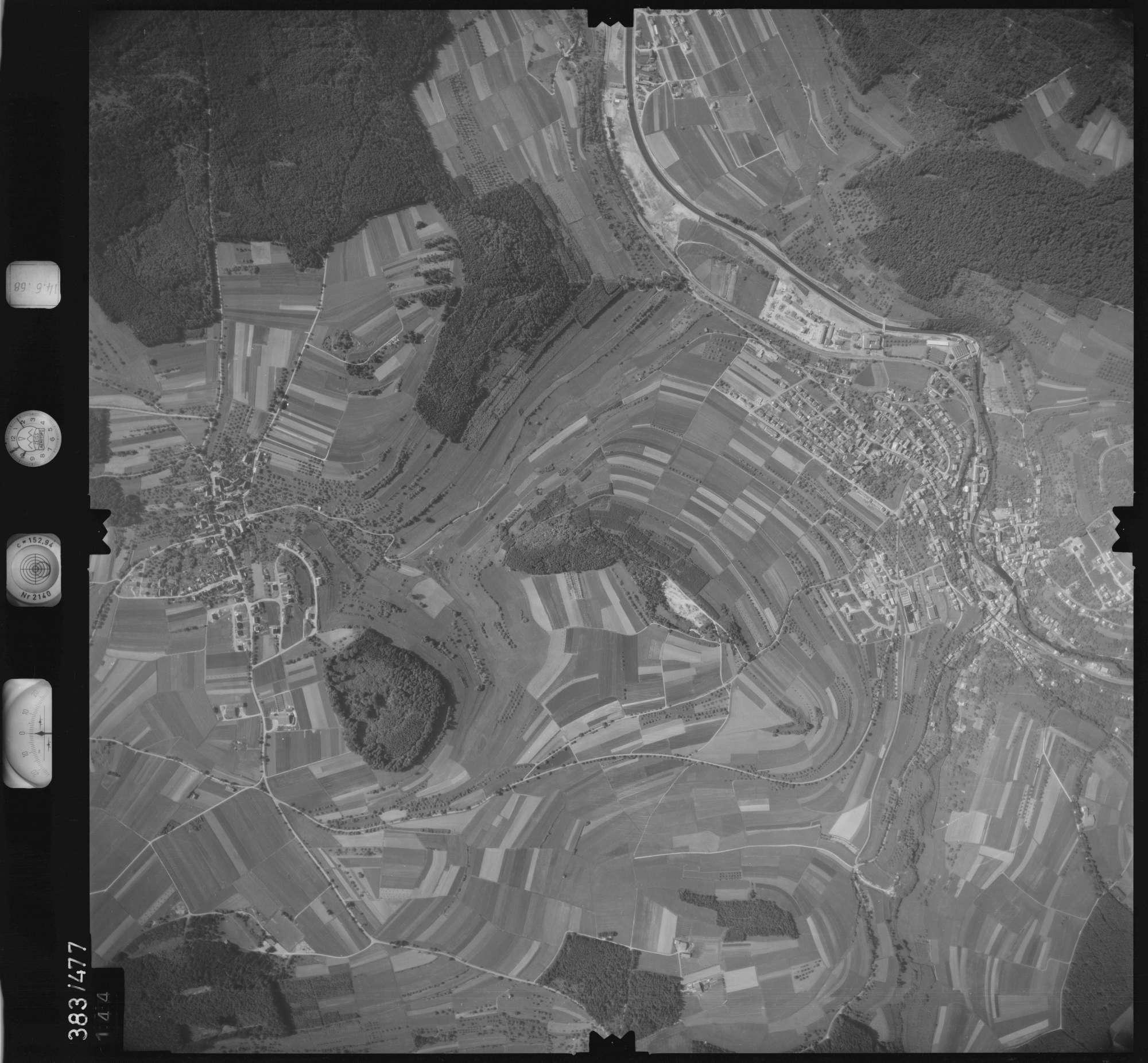 Luftbild: Film 21 Bildnr. 144, Bild 1