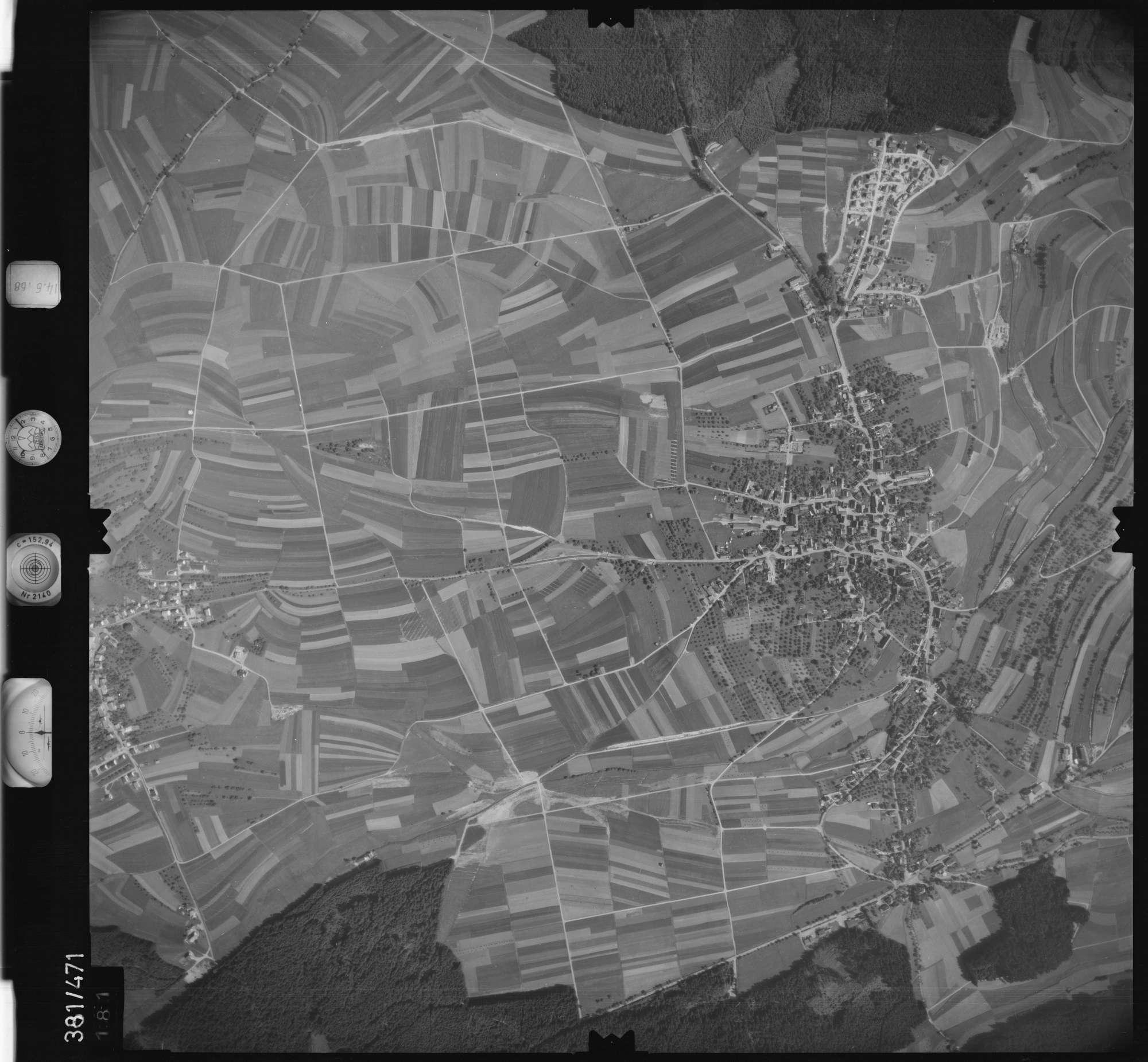 Luftbild: Film 21 Bildnr. 181, Bild 1