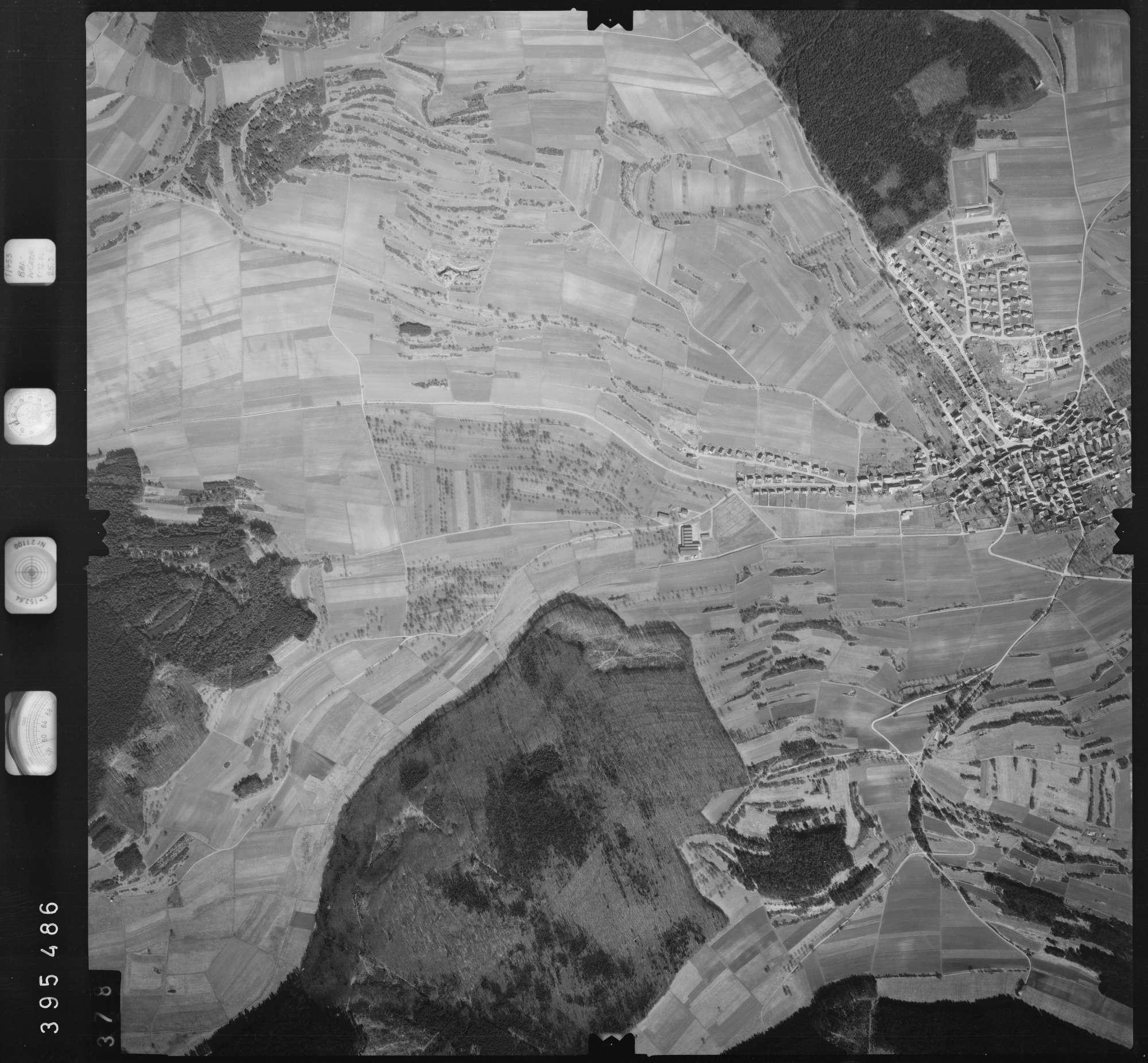 Luftbild: Film 13 Bildnr. 378, Bild 1