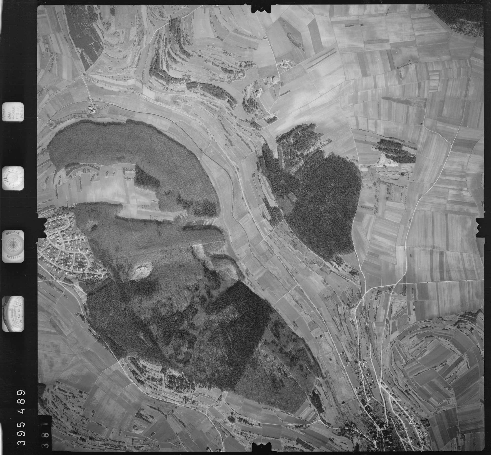 Luftbild: Film 13 Bildnr. 381, Bild 1