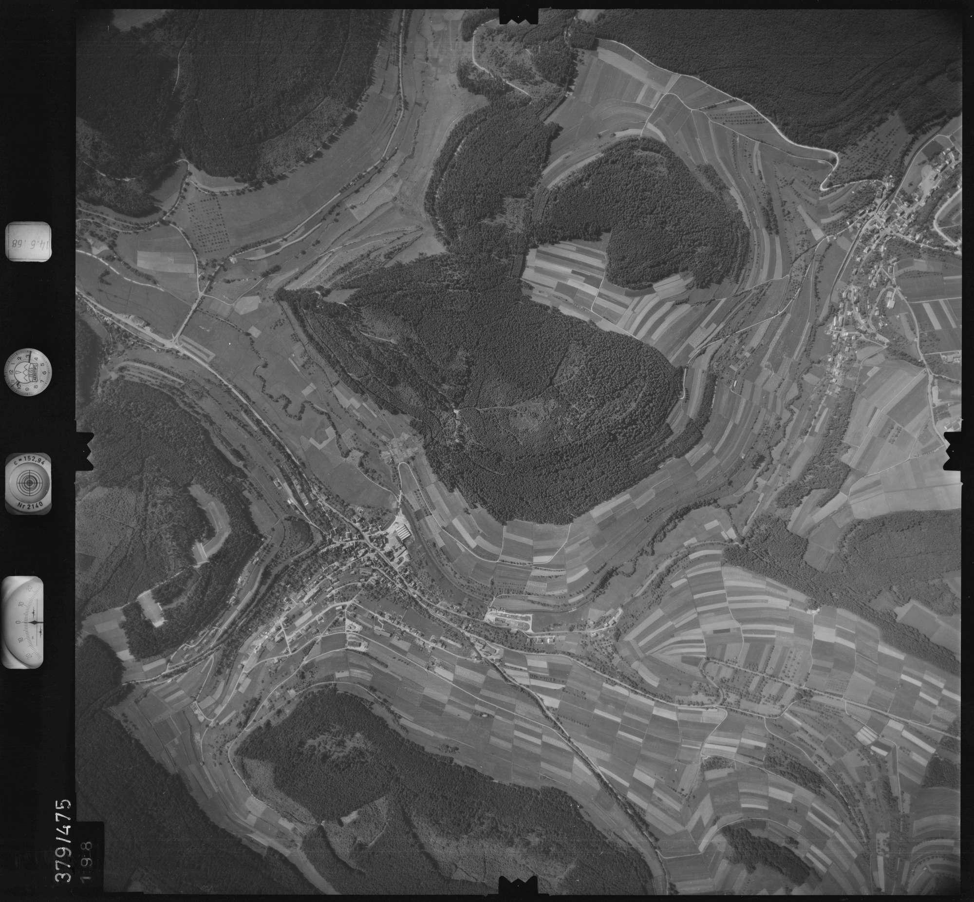 Luftbild: Film 21 Bildnr. 198, Bild 1