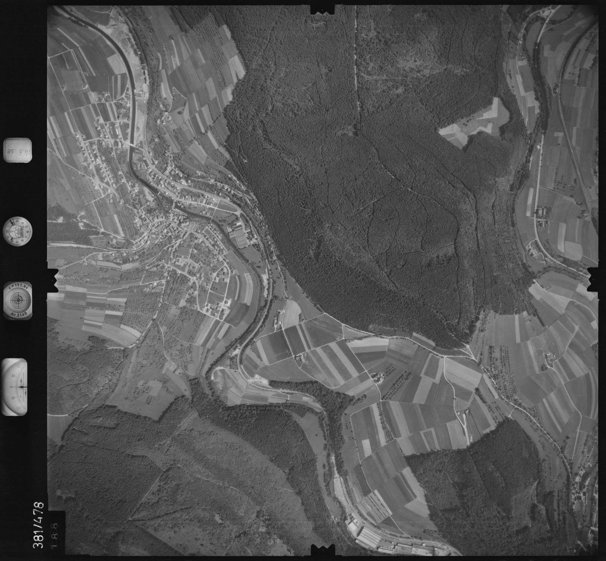 Luftbild: Film 21 Bildnr. 188, Bild 1