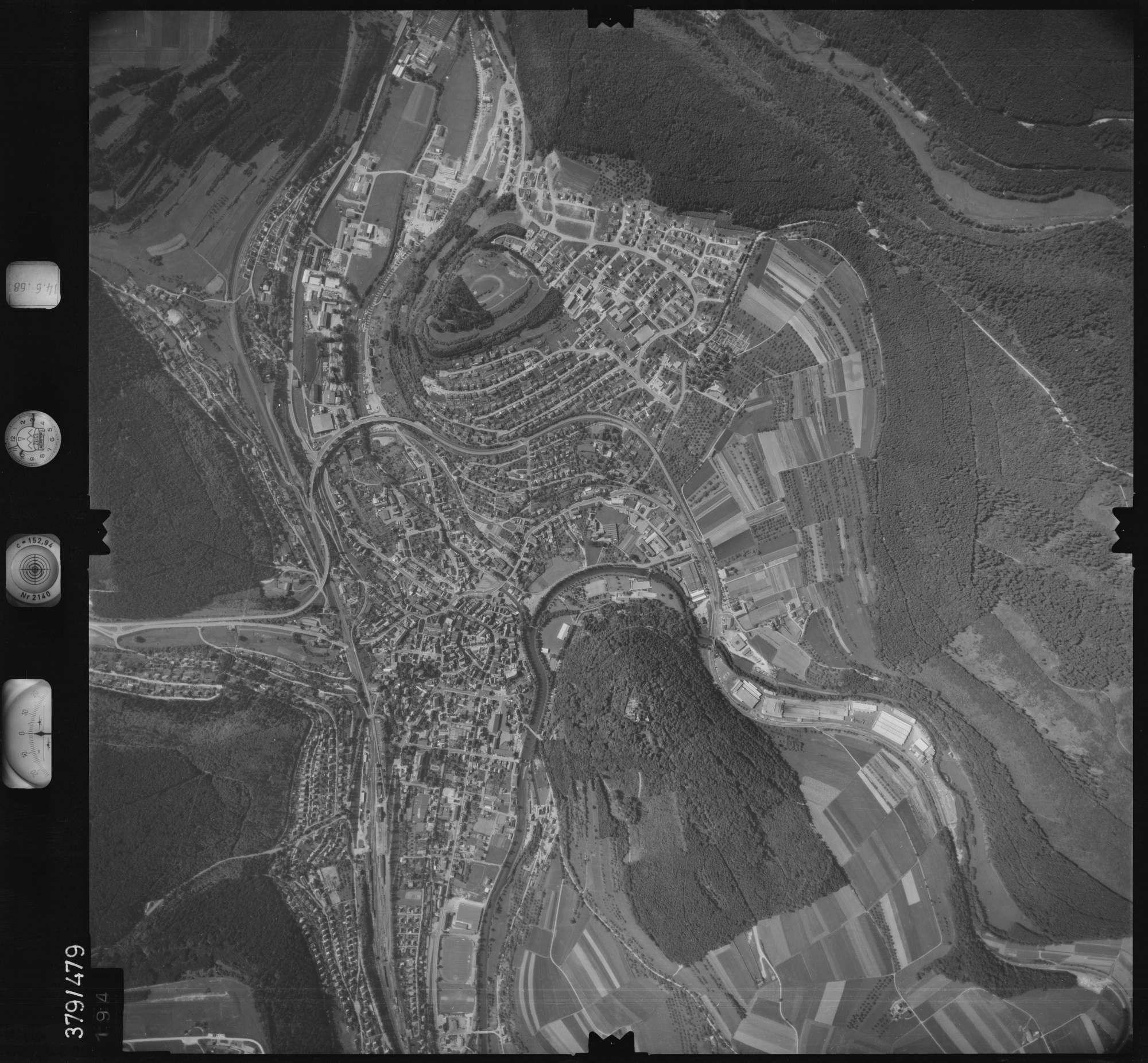 Luftbild: Film 21 Bildnr. 194, Bild 1
