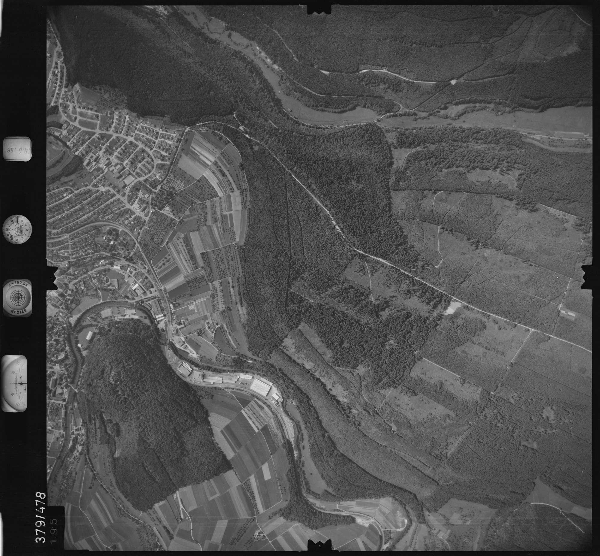 Luftbild: Film 21 Bildnr. 195, Bild 1