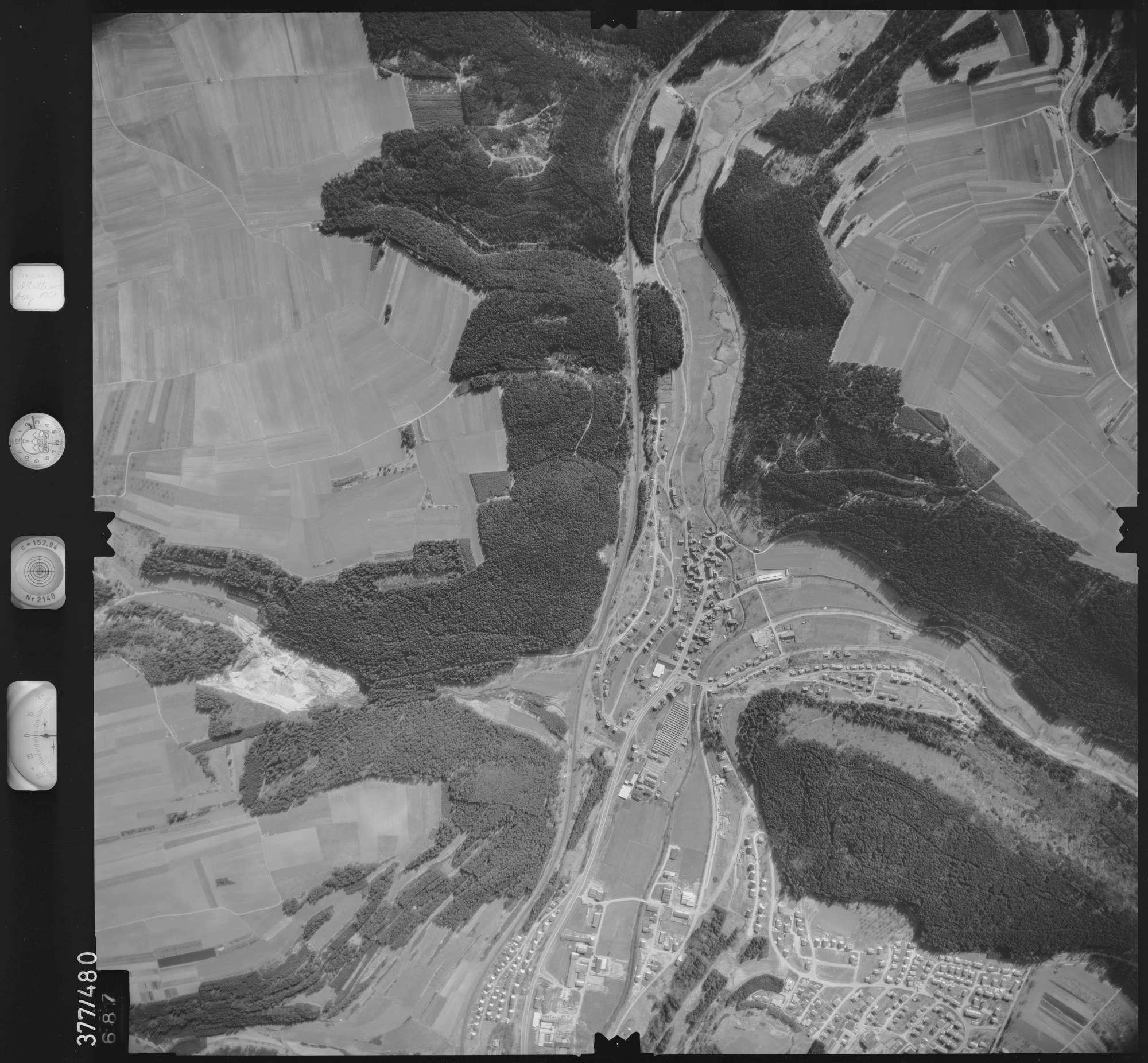 Luftbild: Film 31 Bildnr. 687, Bild 1