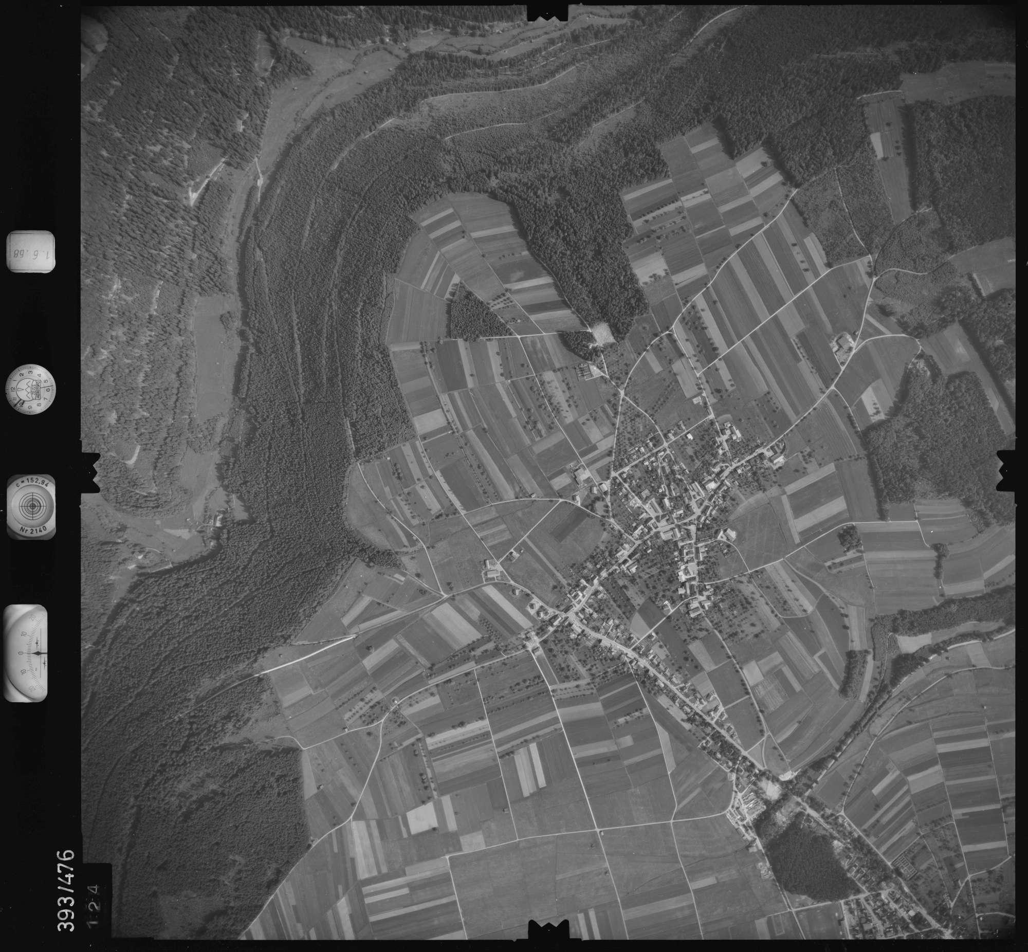 Luftbild: Film 16 Bildnr. 124, Bild 1