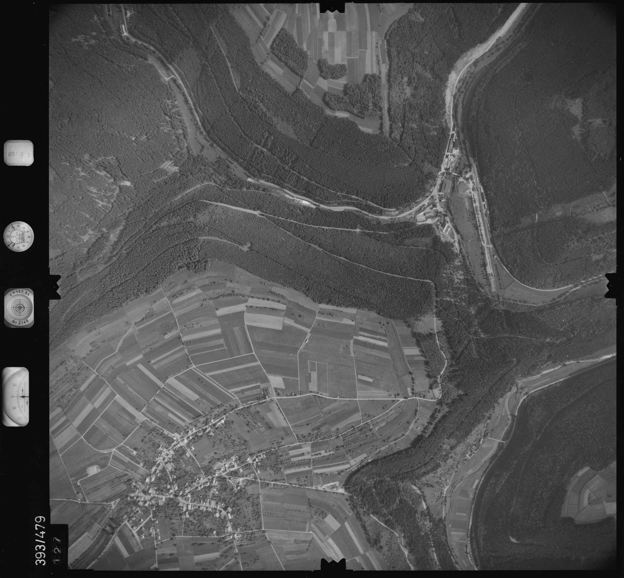 Luftbild: Film 16 Bildnr. 127, Bild 1