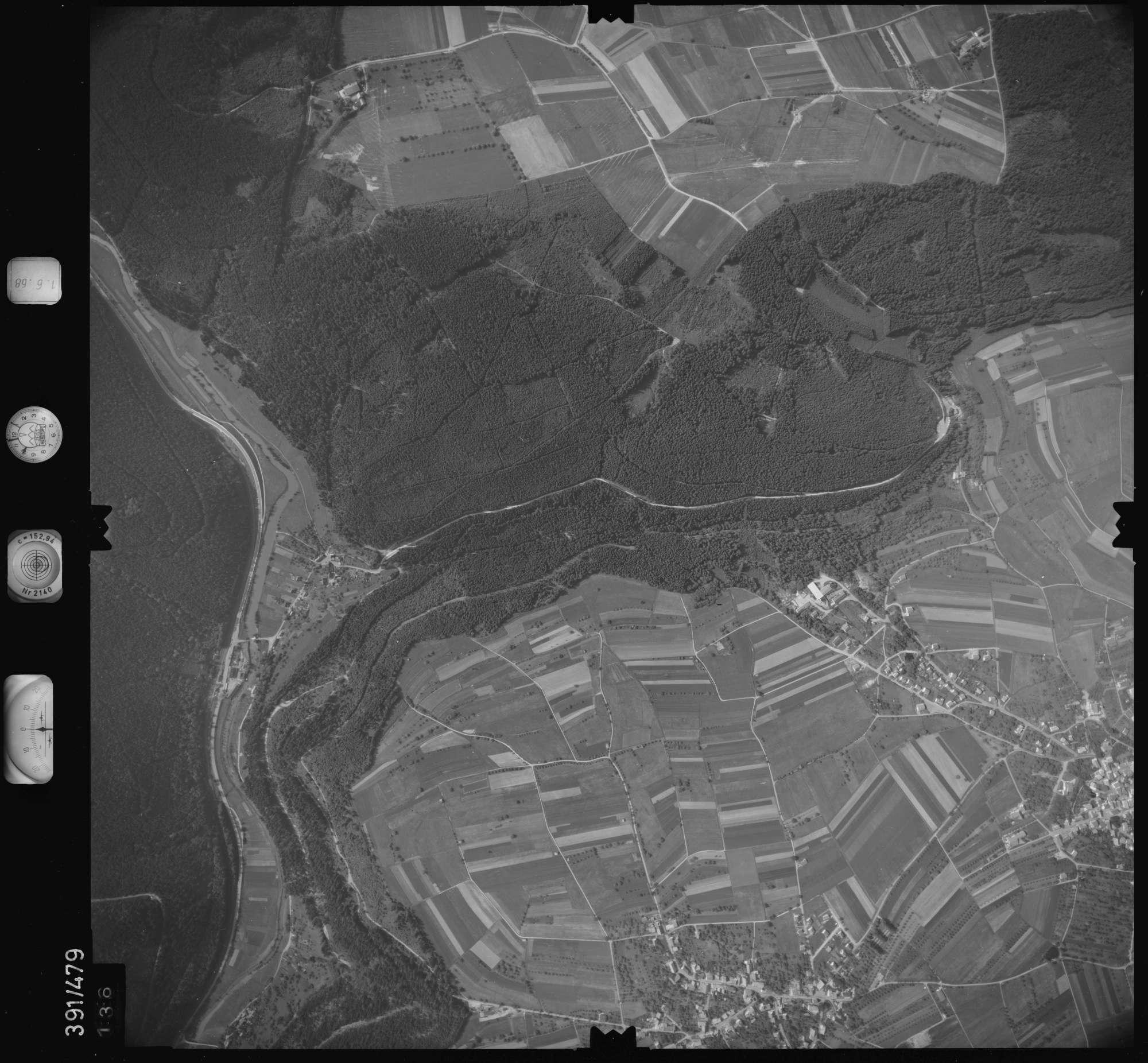 Luftbild: Film 16 Bildnr. 136, Bild 1