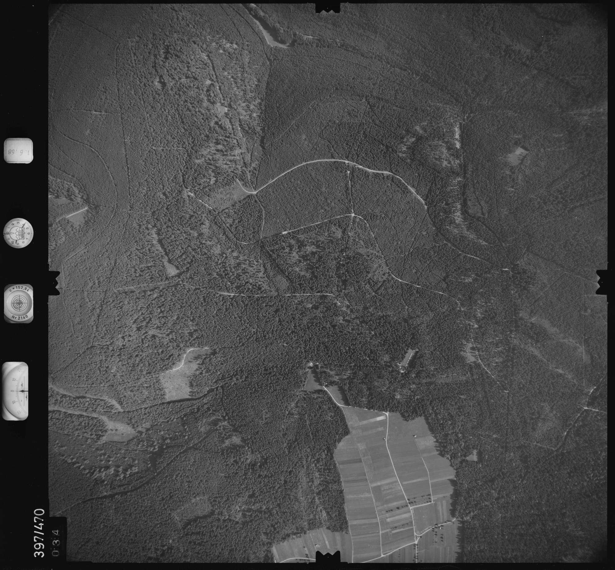 Luftbild: Film 16 Bildnr. 34, Bild 1